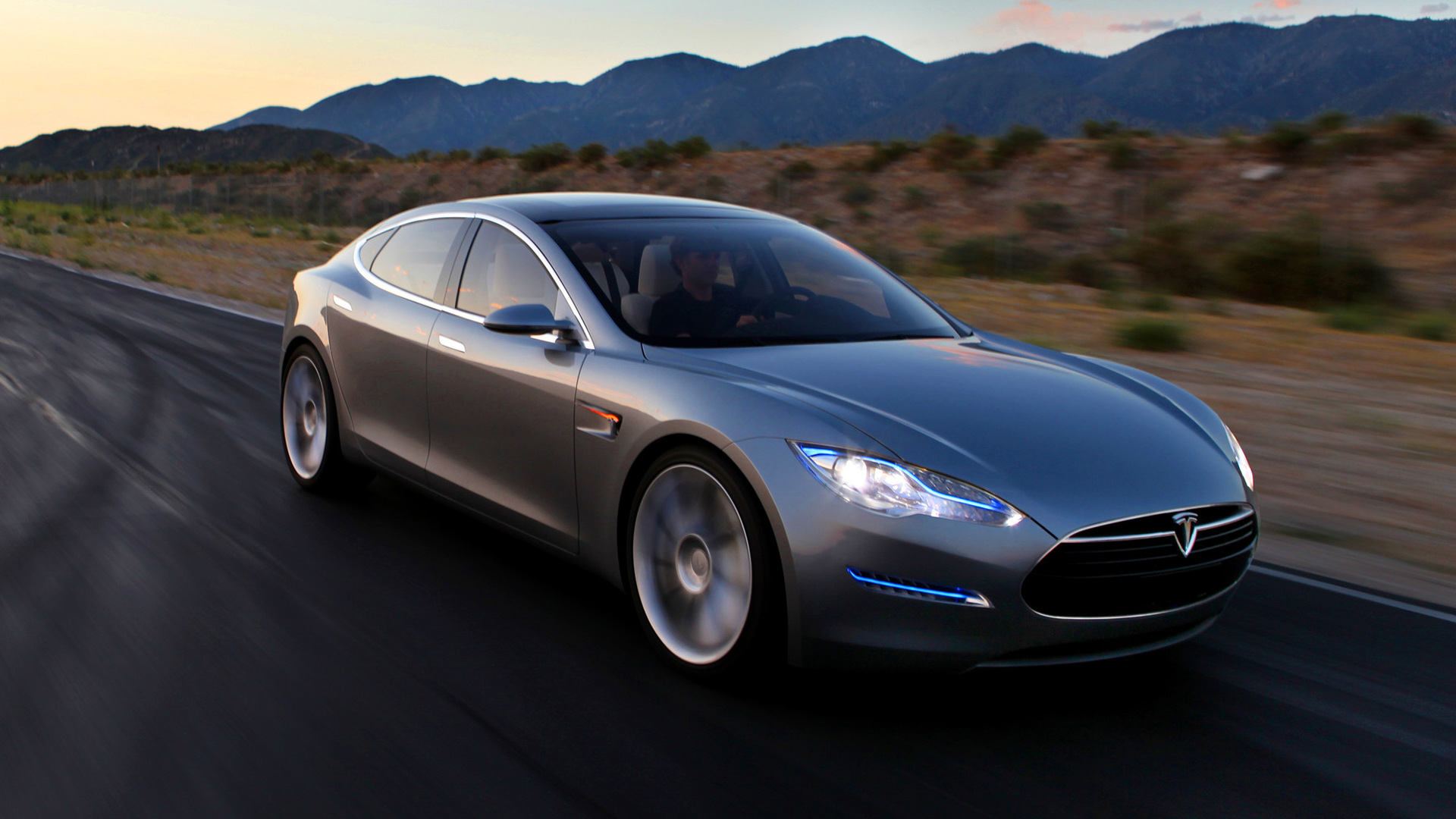 Tesla Model S Concept 2009 Wallpapers And Hd Images