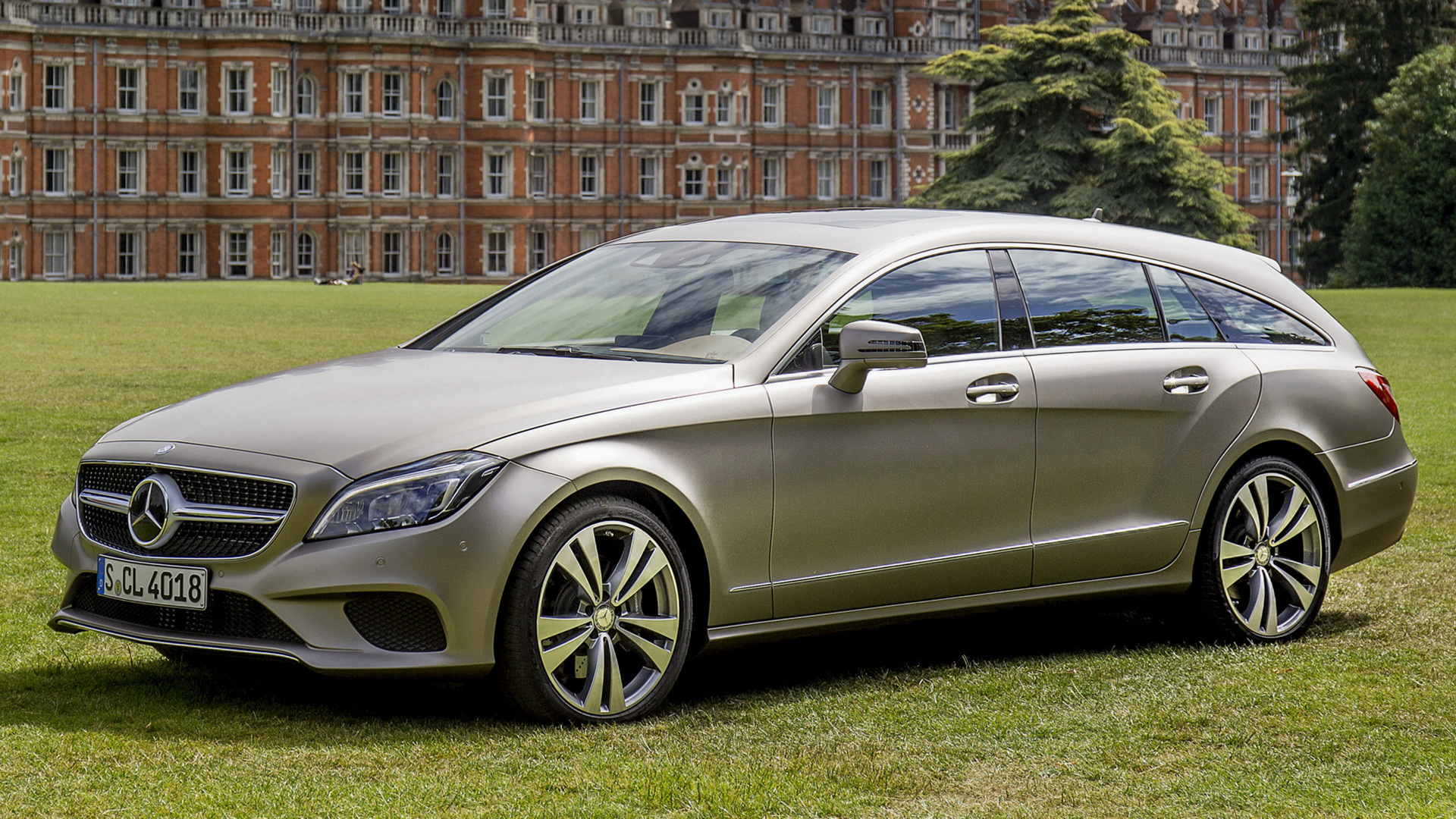 mercedes benz cls class shooting brake 2014 wallpapers and hd images car pixel. Black Bedroom Furniture Sets. Home Design Ideas