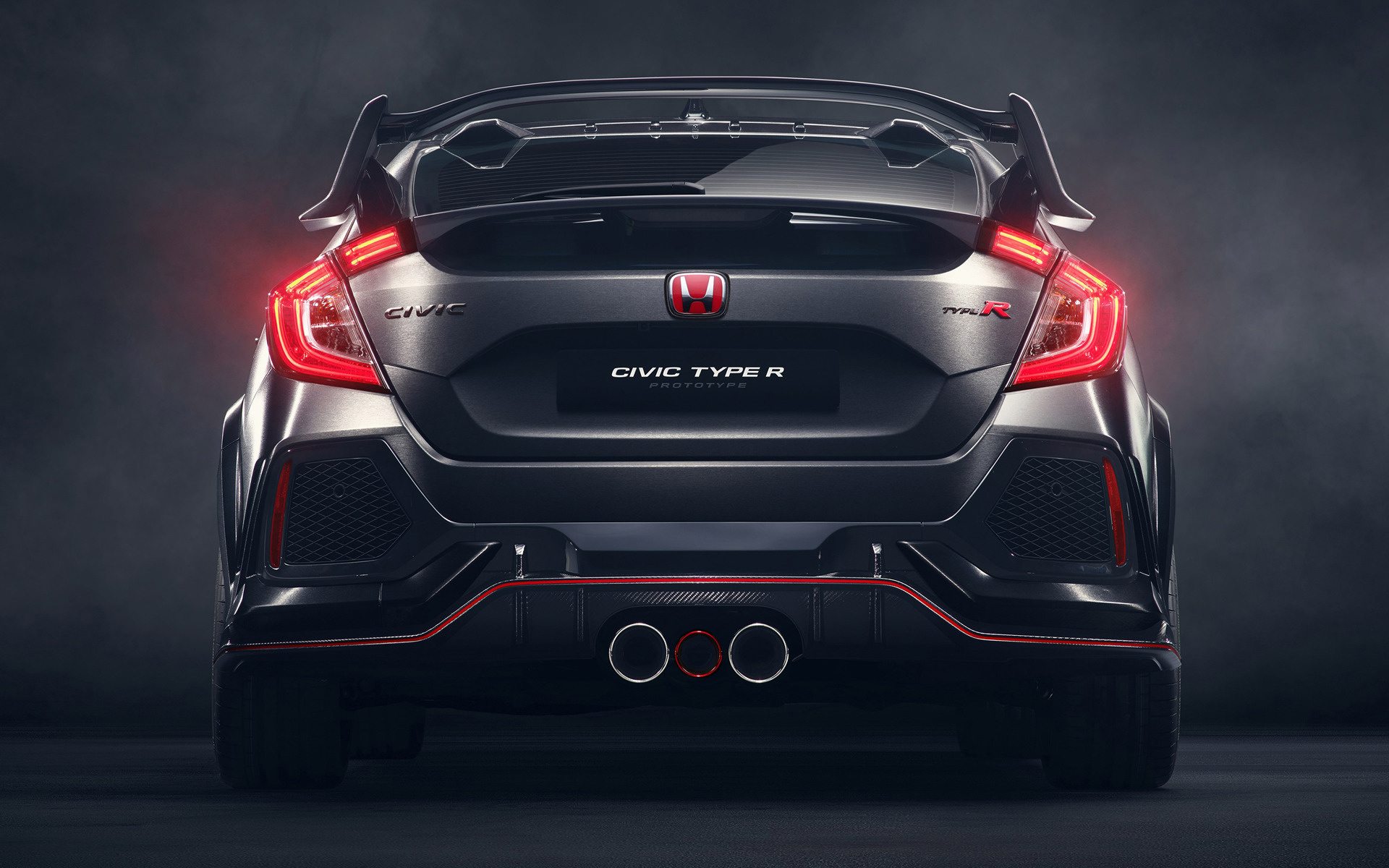 Honda Civic Type R Prototype (2016) Wallpapers and HD ...
