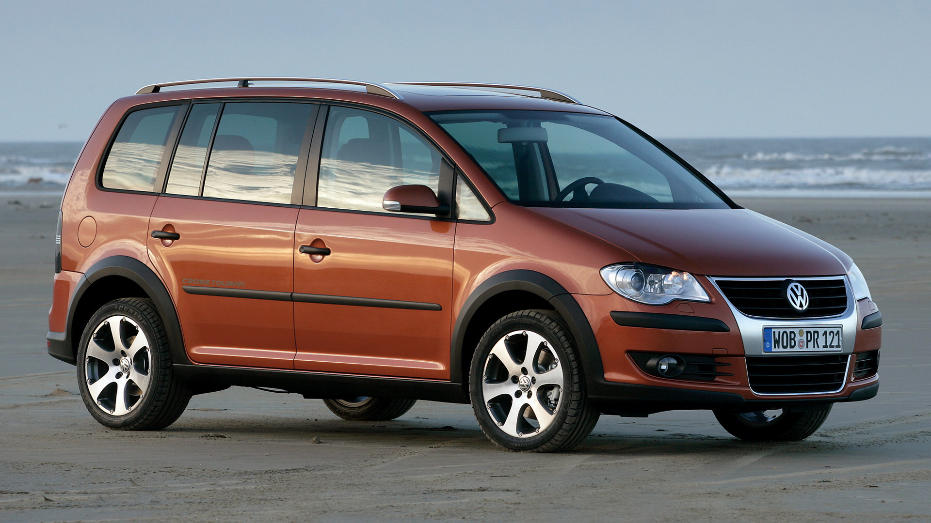 volkswagen cross touran 2007 wallpapers and hd images. Black Bedroom Furniture Sets. Home Design Ideas