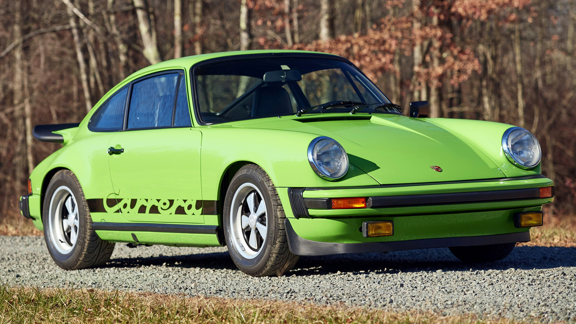 Porsche 911 Carrera With Whale Tail 1974 Wallpapers And