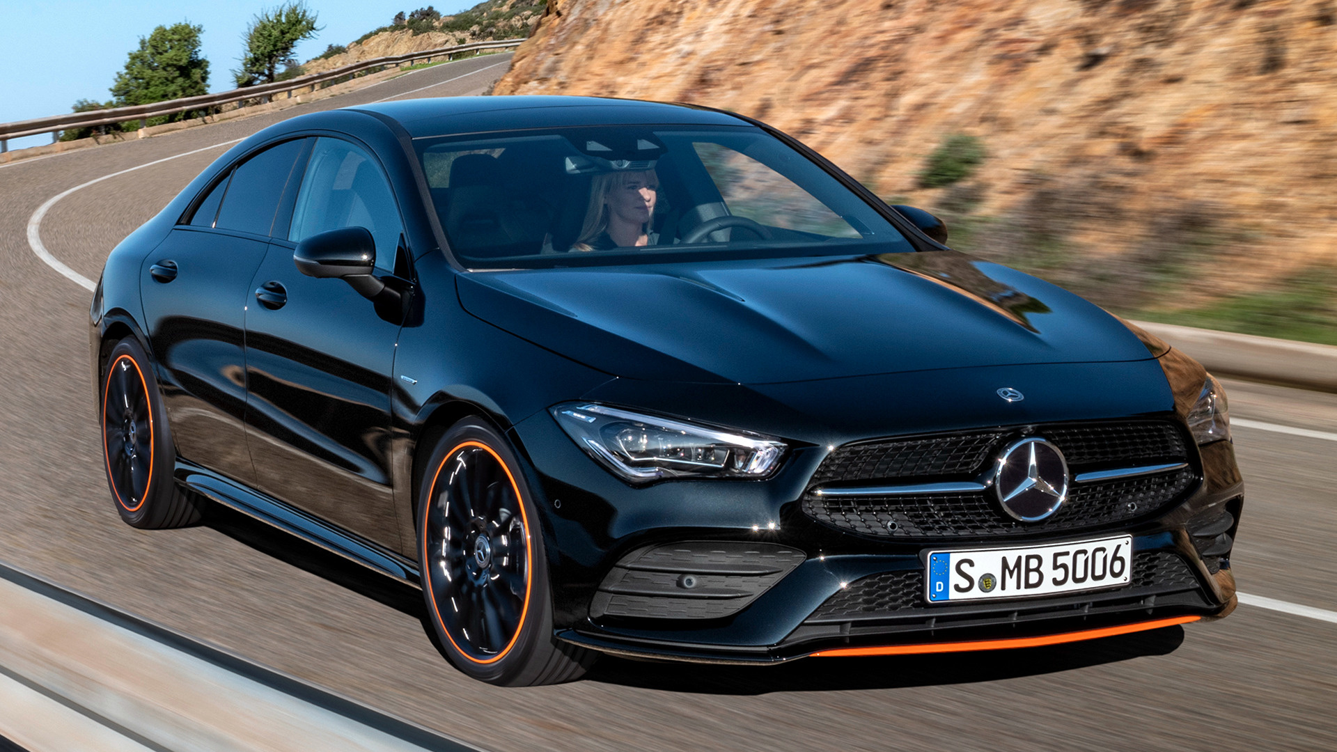 Mercedes Benz Cla >> 2019 Mercedes-Benz CLA-Class OrangeArt Edition - Wallpapers and HD Images | Car Pixel