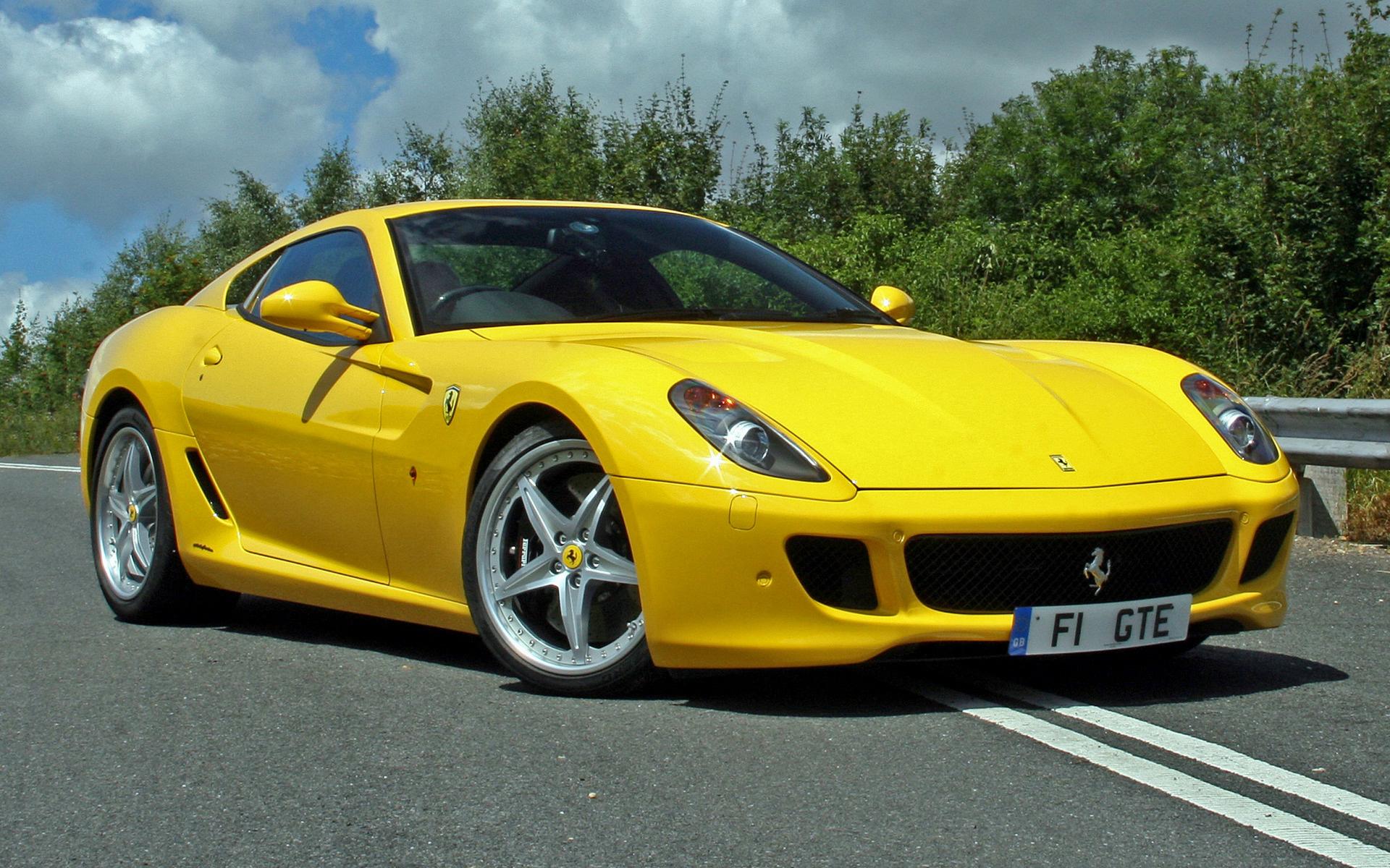 2009 Ferrari 599 Gtb Fiorano Hgte Uk Papeis De Parede E Imagens De Fundo Em Hd Car Pixel
