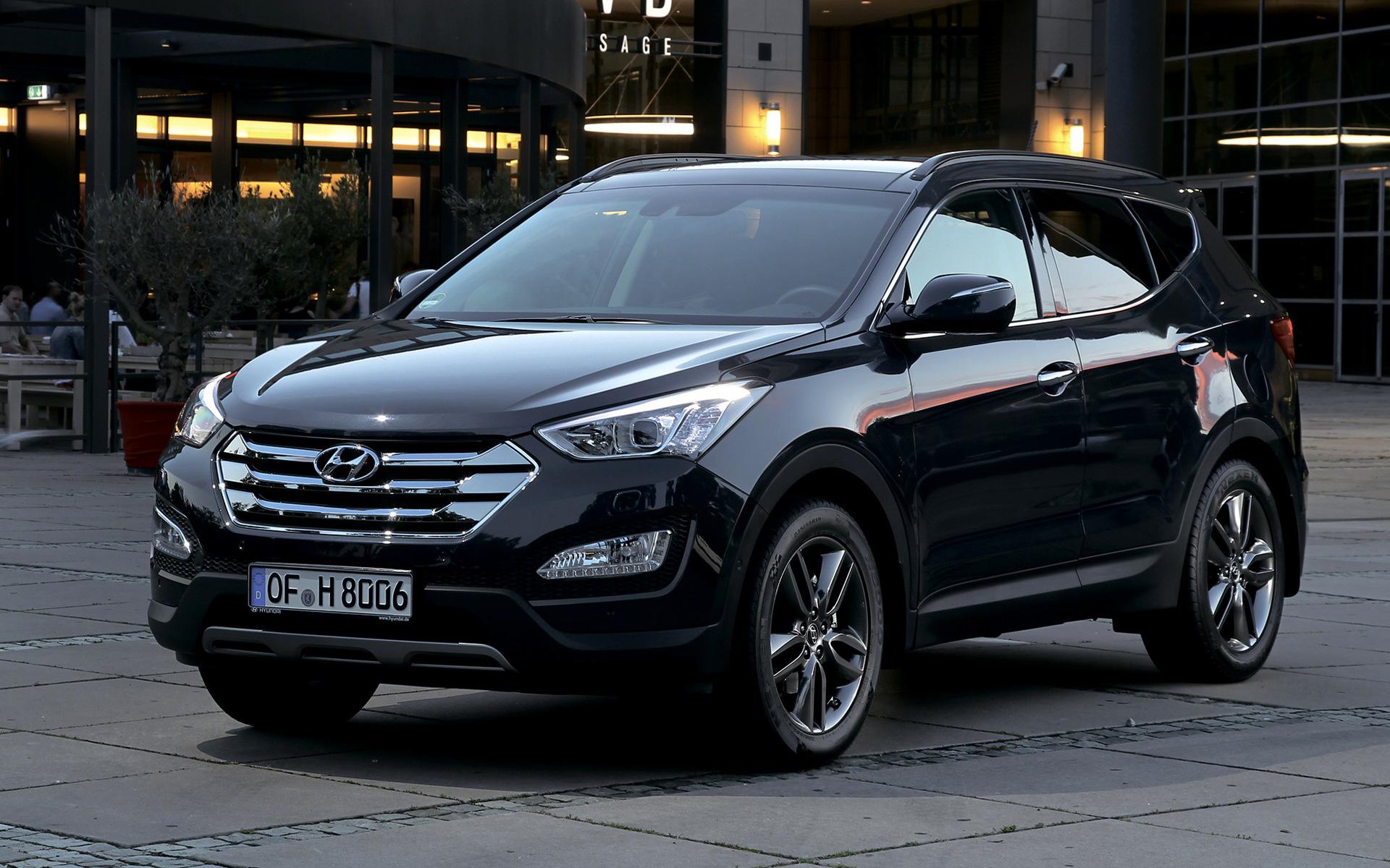 Santa Fe Ford >> Hyundai Santa Fe (2012) Wallpapers and HD Images - Car Pixel