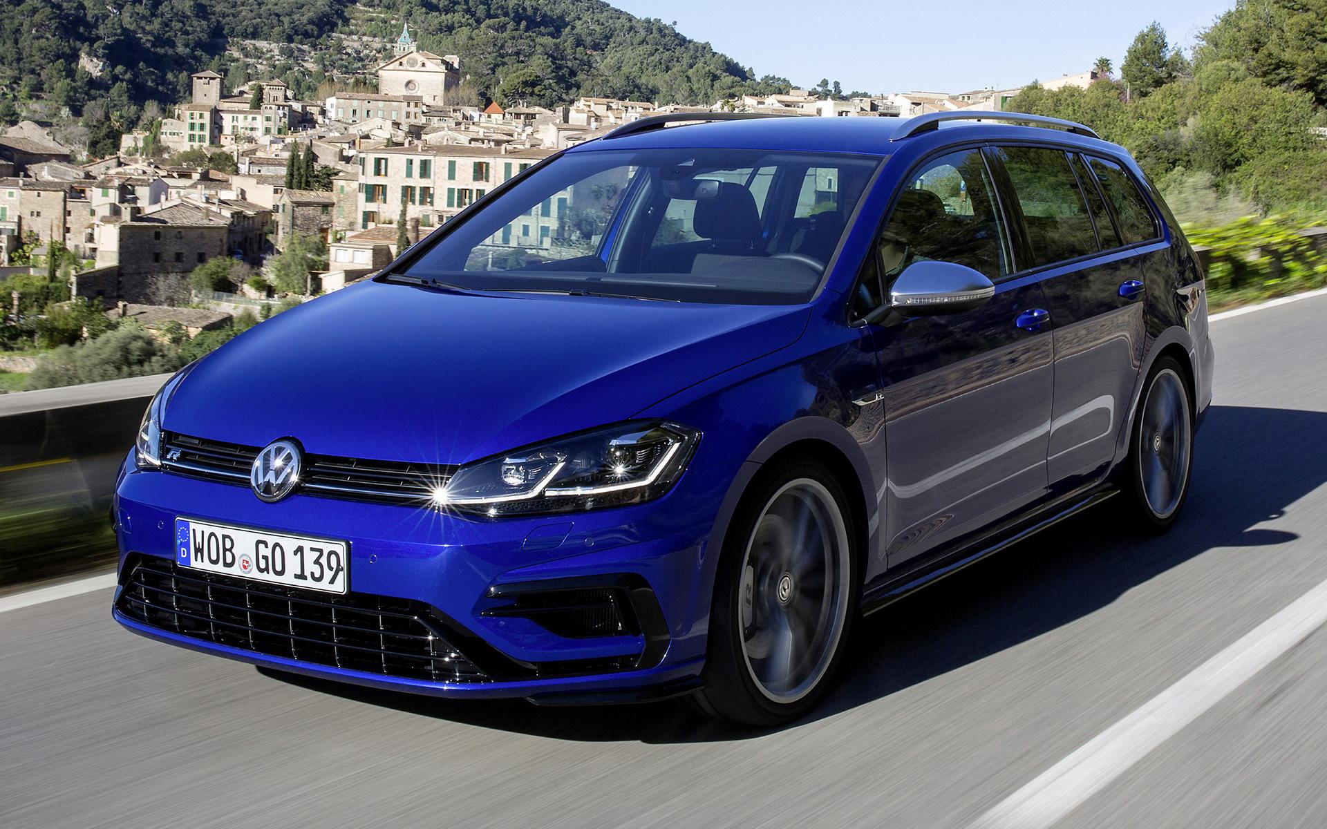 Volkswagen Golf R >> 2017 Volkswagen Golf R Variant - Wallpapers and HD Images | Car Pixel