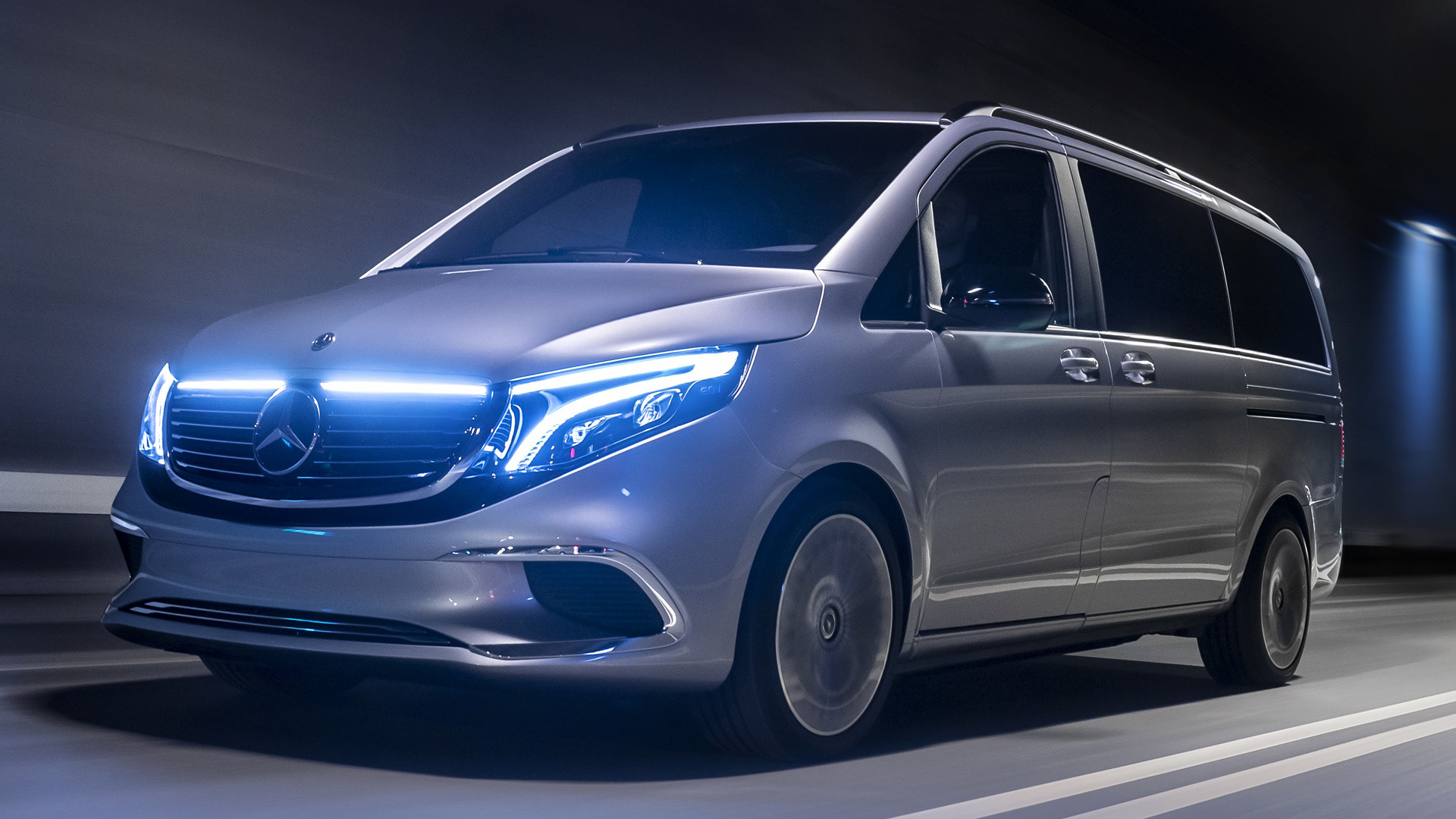 2019 Mercedes-Benz Concept EQV - Wallpapers and HD Images ...