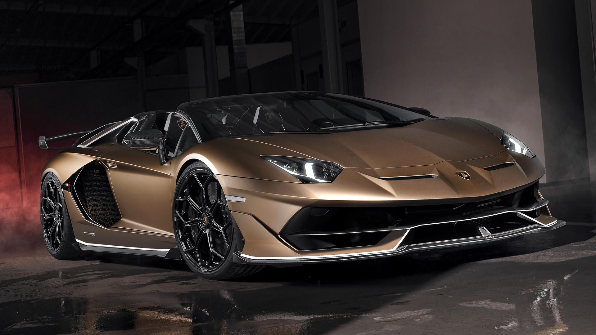 2019 Lamborghini Aventador SVJ Roadster - Wallpapers and ...