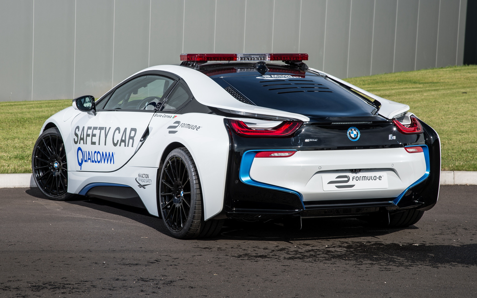 bmw i8 formula e safety car 2014 wallpapers and hd. Black Bedroom Furniture Sets. Home Design Ideas