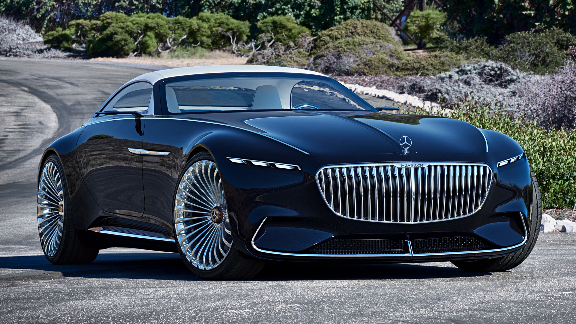 2017 vision mercedes-maybach 6 cabriolet - wallpapers and hd images