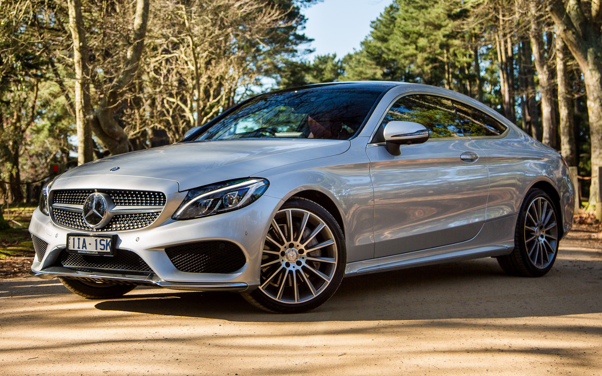 Genesis Coupe 2016 >> 2016 Mercedes-Benz C-Class Coupe AMG Line (AU) - Wallpapers and HD Images | Car Pixel