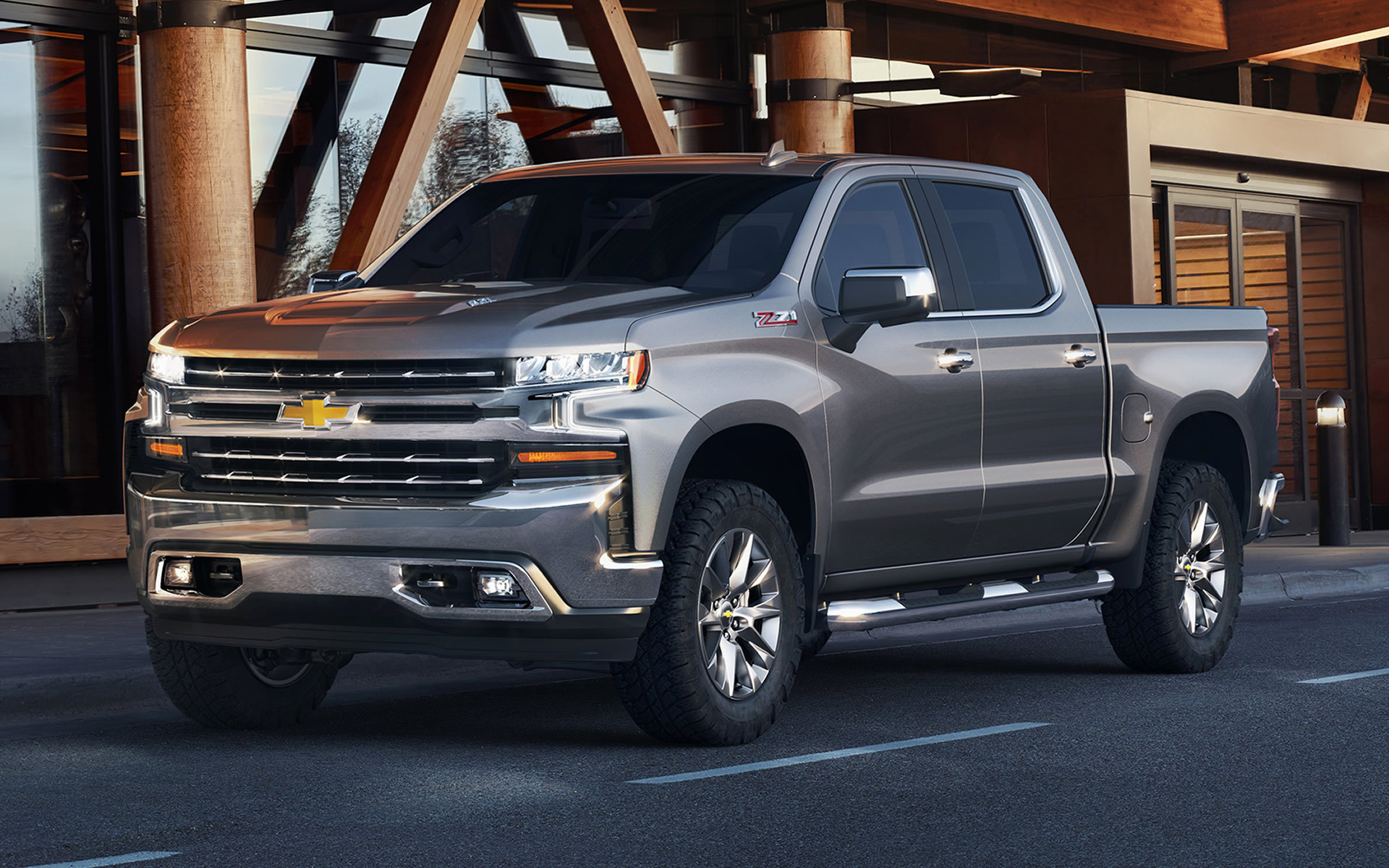 2019 Chevrolet Silverado Z71 Crew Cab Wallpapers And Hd