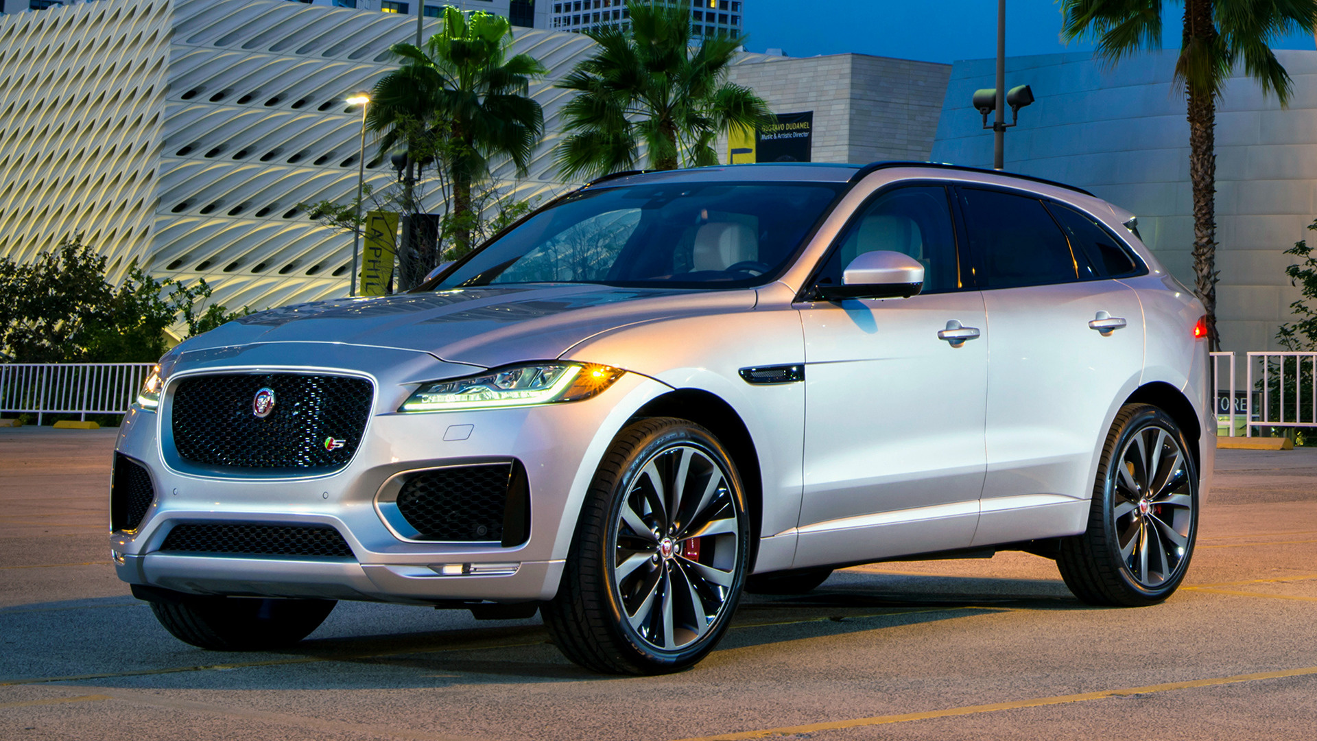 2017 Jaguar F-Pace S (US) - Wallpapers and HD Images | Car ...