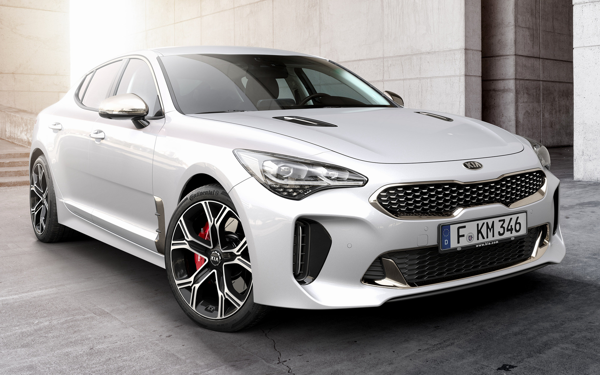 Kia Stinger GT (2017) Wallpapers and HD Images - Car Pixel