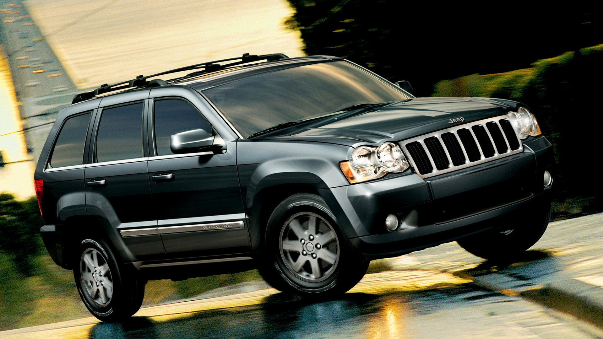 2008 Jeep Grand Cherokee Laredo >> Jeep Grand Cherokee (2008) US Wallpapers and HD Images ...