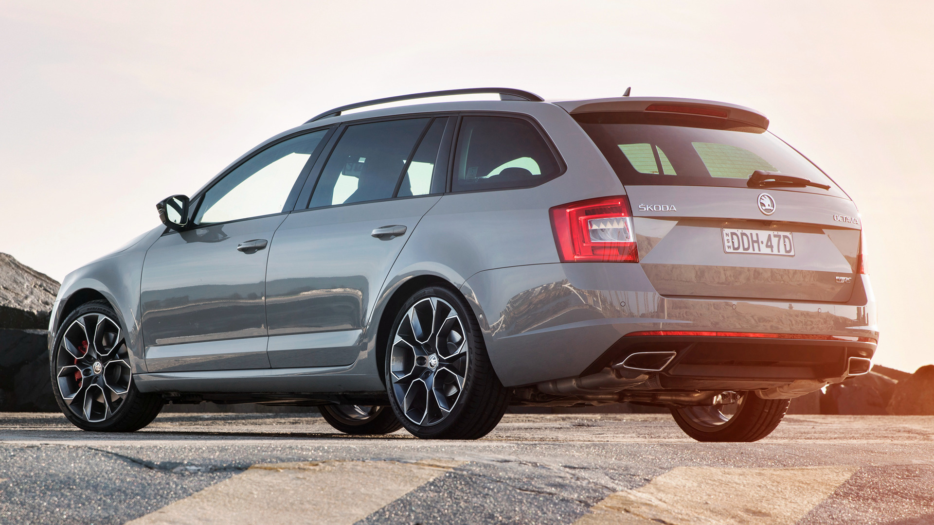 skoda octavia rs wagon 2014 au wallpapers and hd images. Black Bedroom Furniture Sets. Home Design Ideas