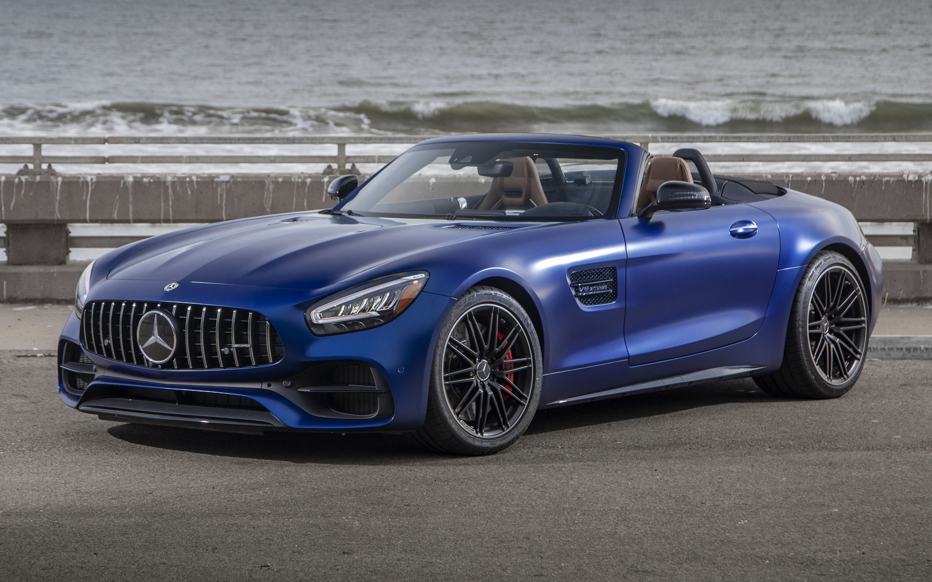 2020 Mercedes Amg Gt C Roadster Us Wallpapers And Hd Images Car Pixel