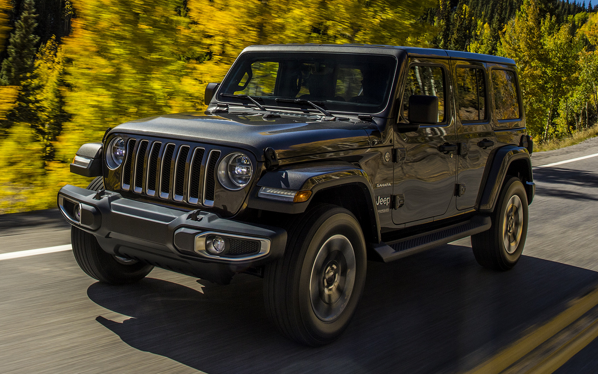 2018 Jeep Wrangler Unlimited Sahara - Wallpapers and HD ...