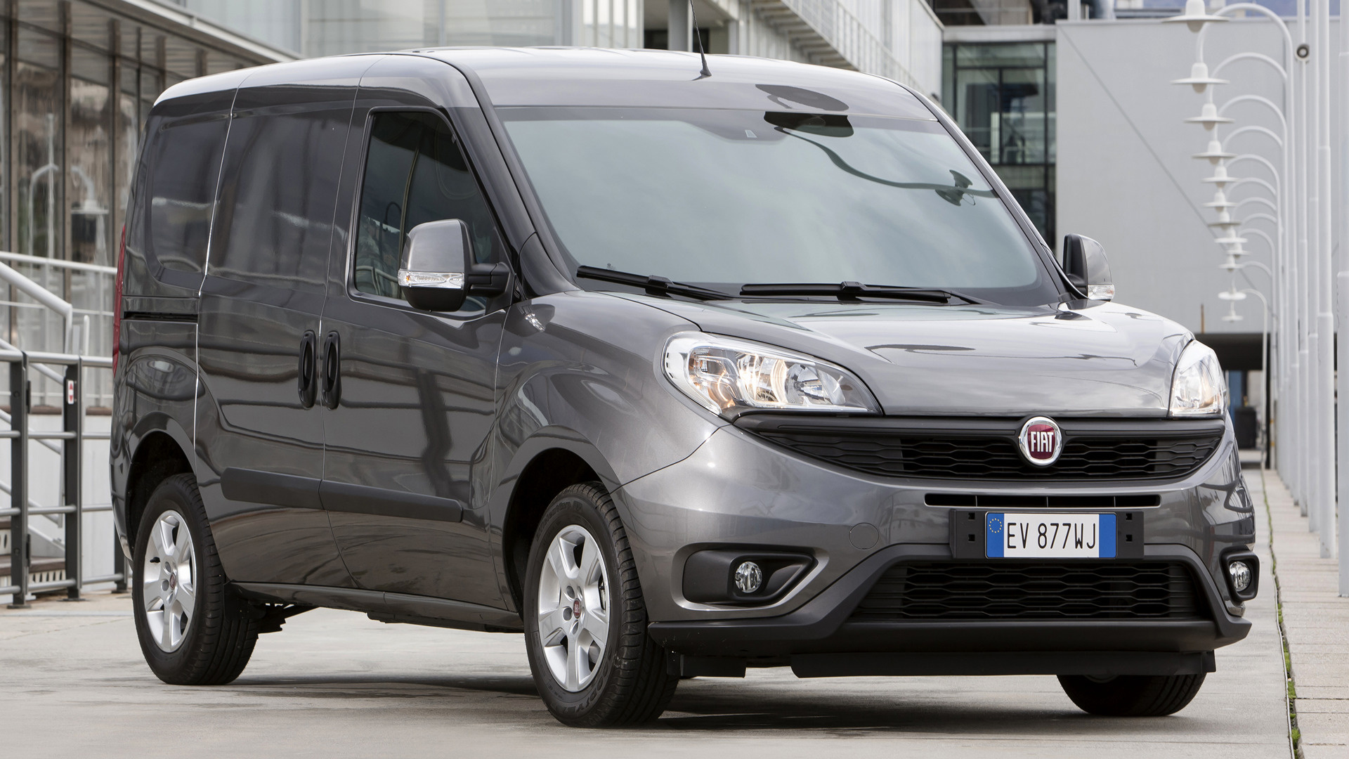 fiat doblo cargo 2015 wallpapers and hd images car pixel. Black Bedroom Furniture Sets. Home Design Ideas