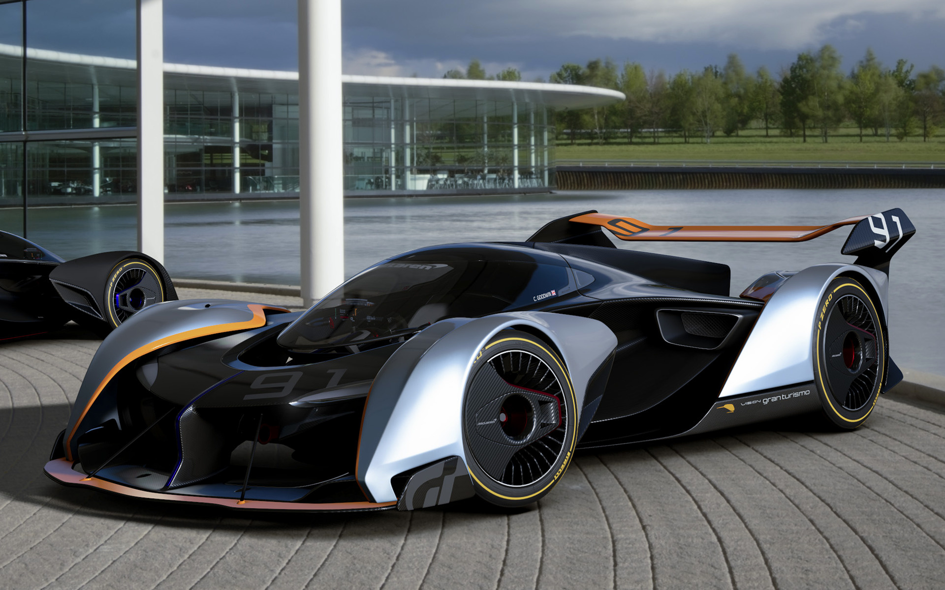2017 McLaren Ultimate Vision Gran Turismo - Wallpapers and ...