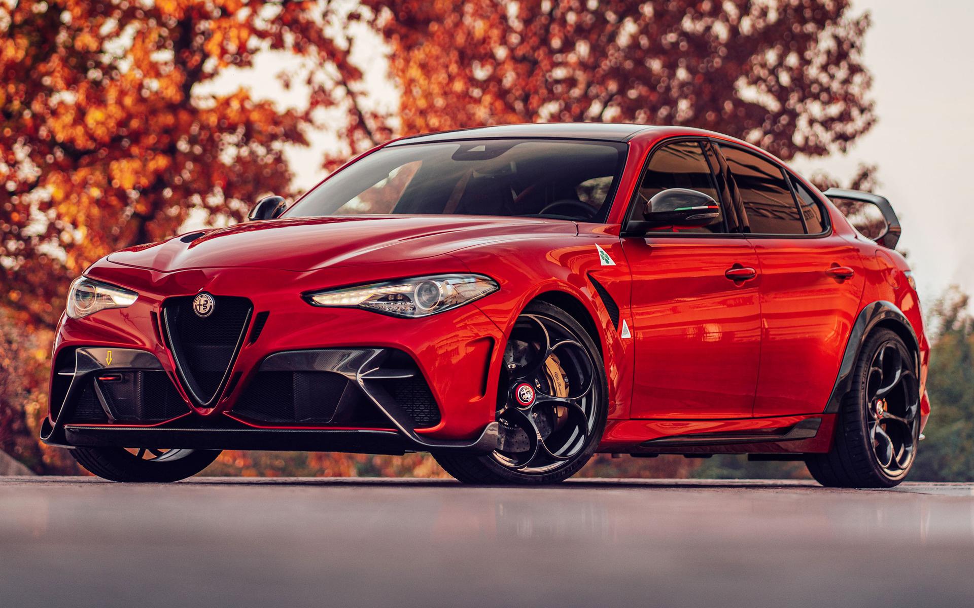 2020 Alfa Romeo Giulia Gtam Wallpapers And Hd Images Car Pixel