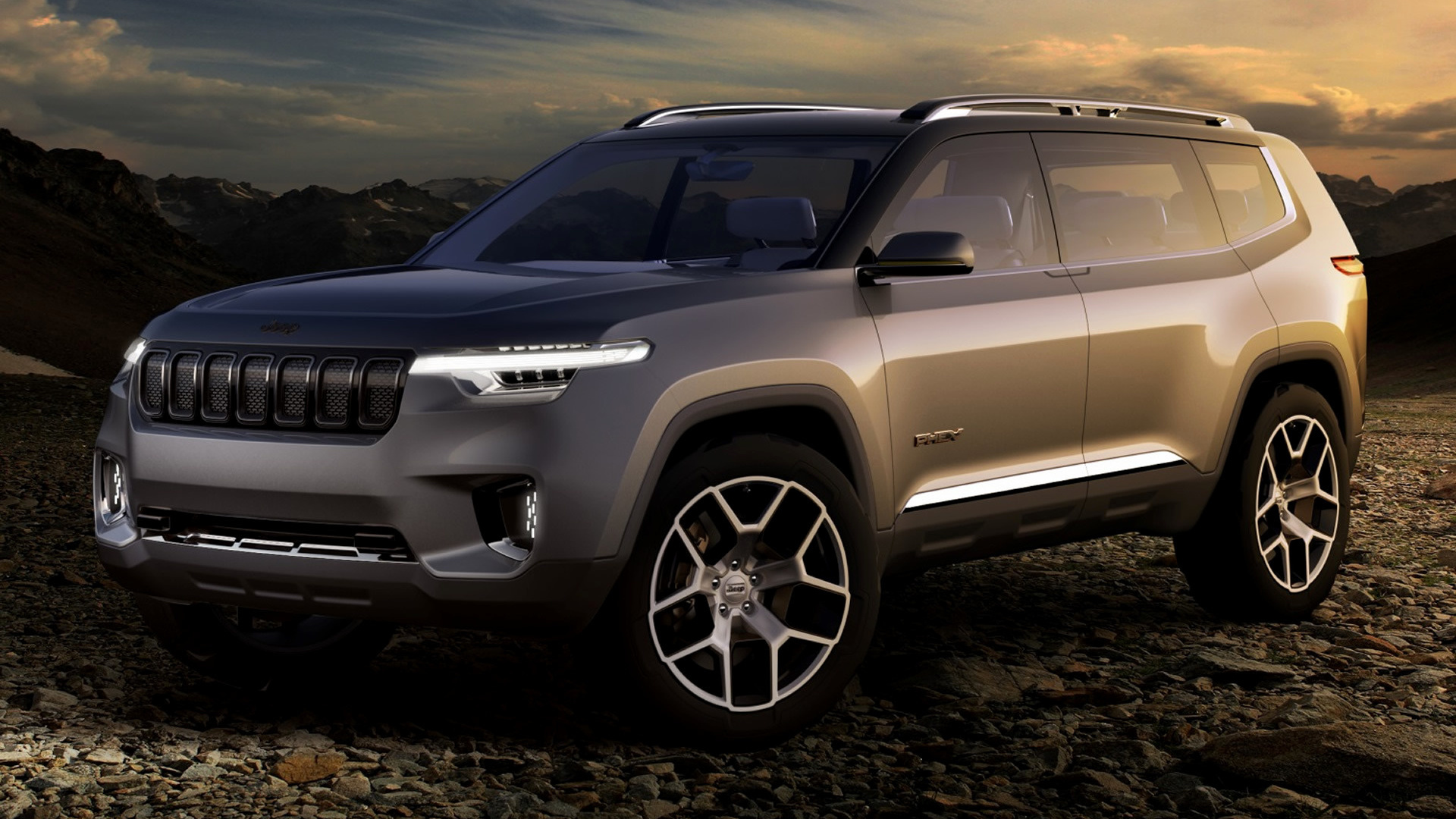 Jeep Yuntu Concept (2017) Wallpapers and HD Images - Car Pixel