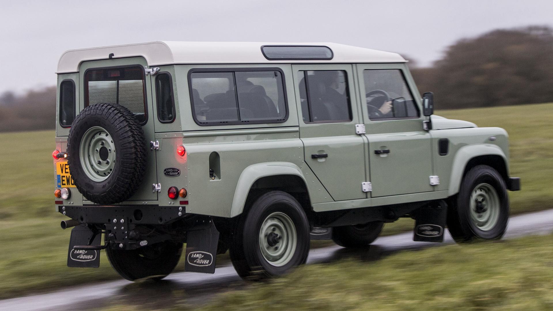 Heritage Volkswagen Subaru >> 2015 Land Rover Defender 110 Heritage (UK) - Wallpapers