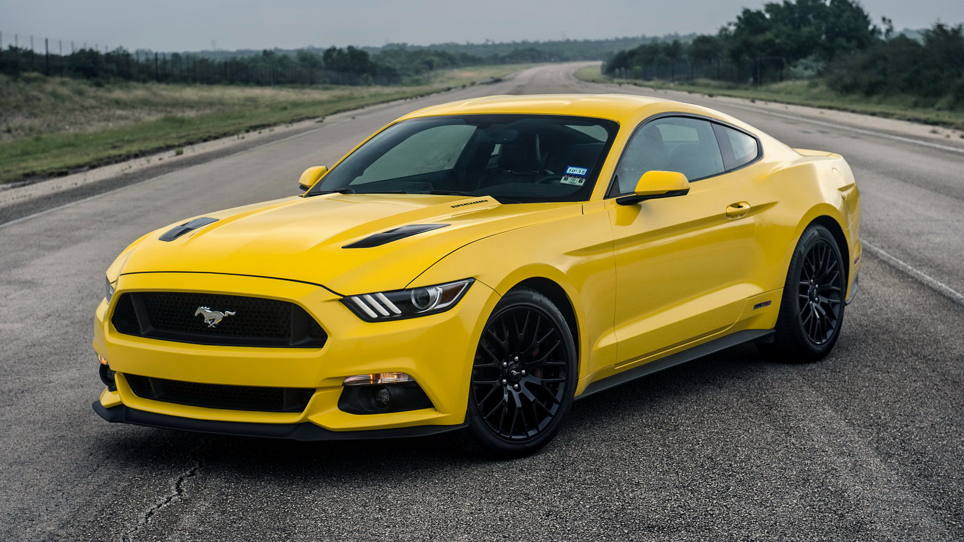 Hennessey Mustang Gt Hpe Supercharged Wallpaper Hd