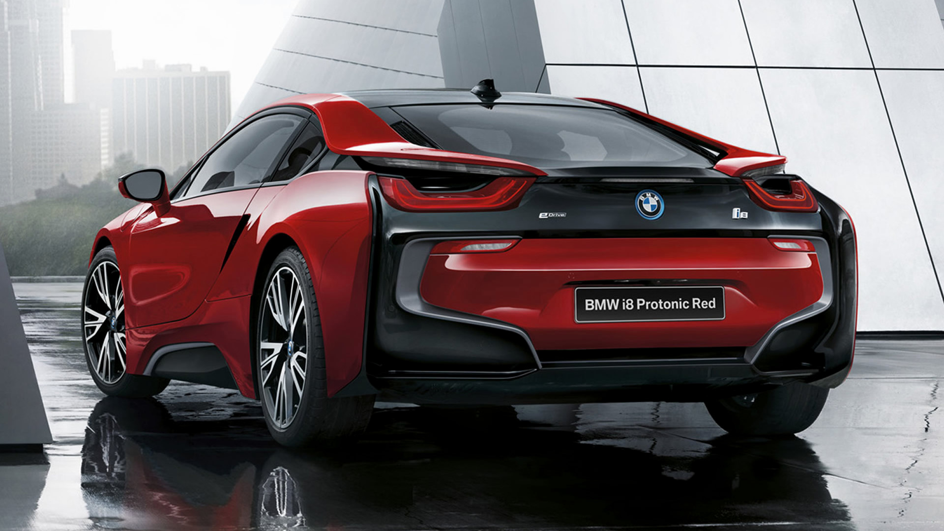 2016 Bmw I8 Protonic Red Edition Wallpapers And Hd