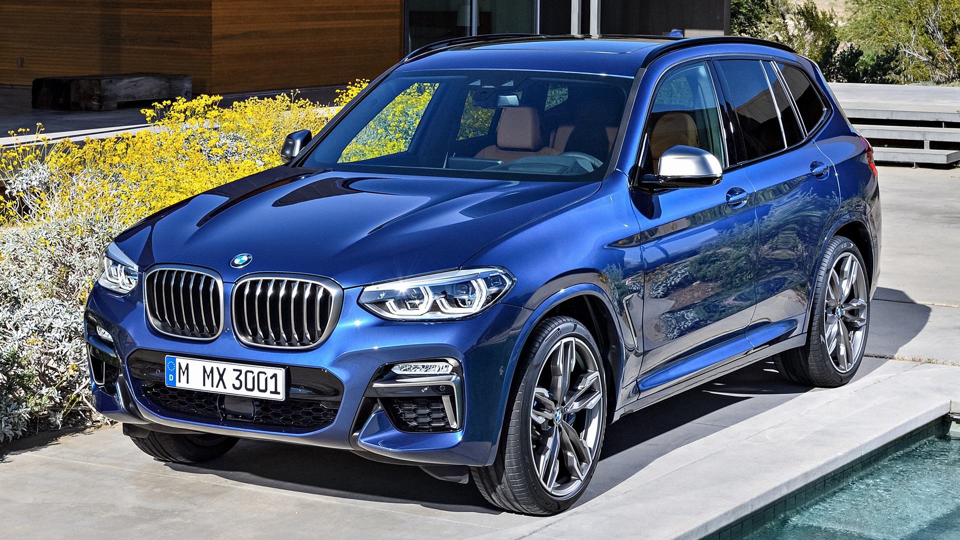 bmw x3 m40i 2017 wallpapers and hd images car pixel. Black Bedroom Furniture Sets. Home Design Ideas