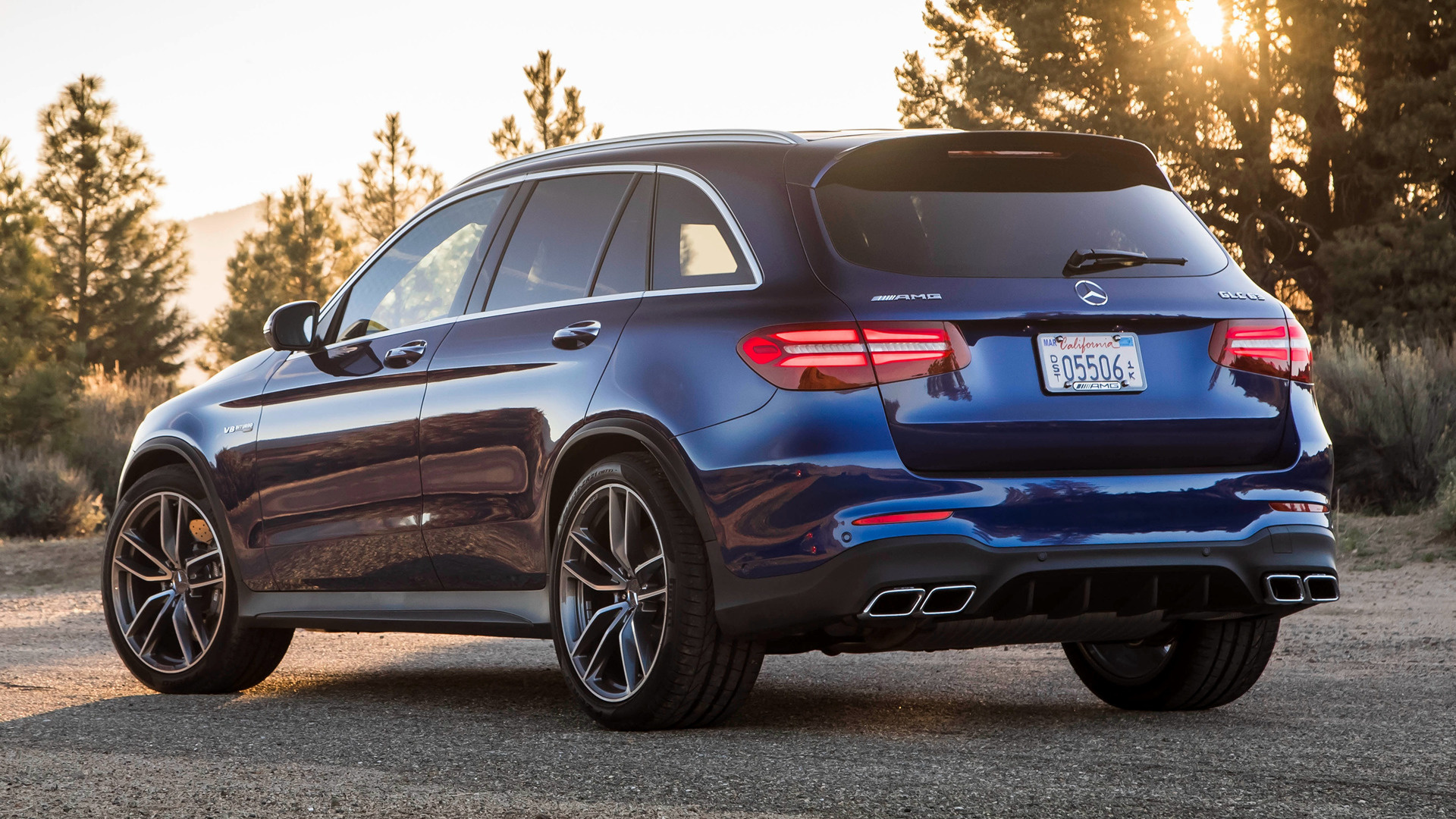 2018 Mercedes Amg Glc 63 Us Wallpapers And Hd Images