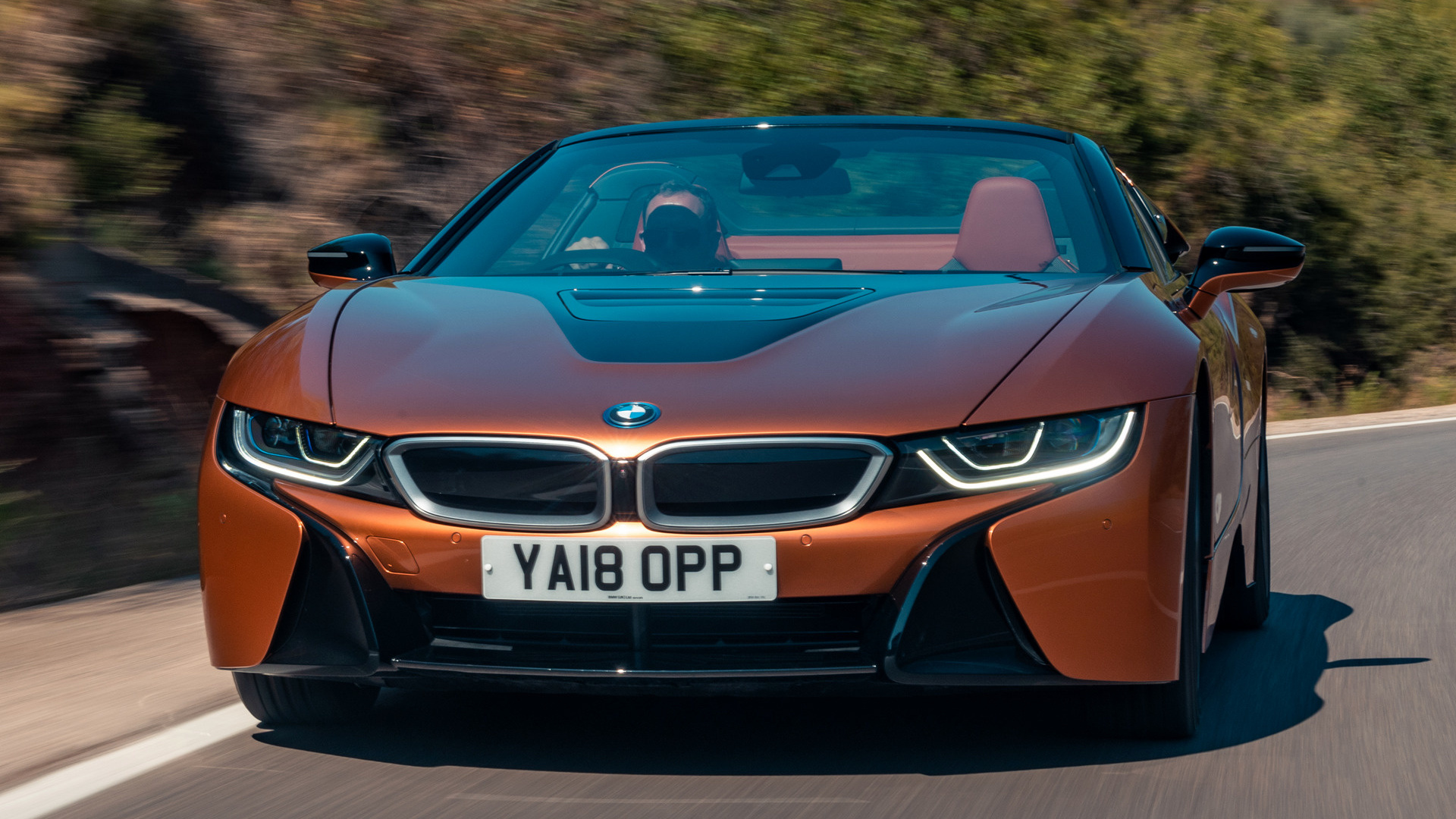 2018 Bmw I8 Roadster Uk Wallpapers And Hd Images Car Pixel