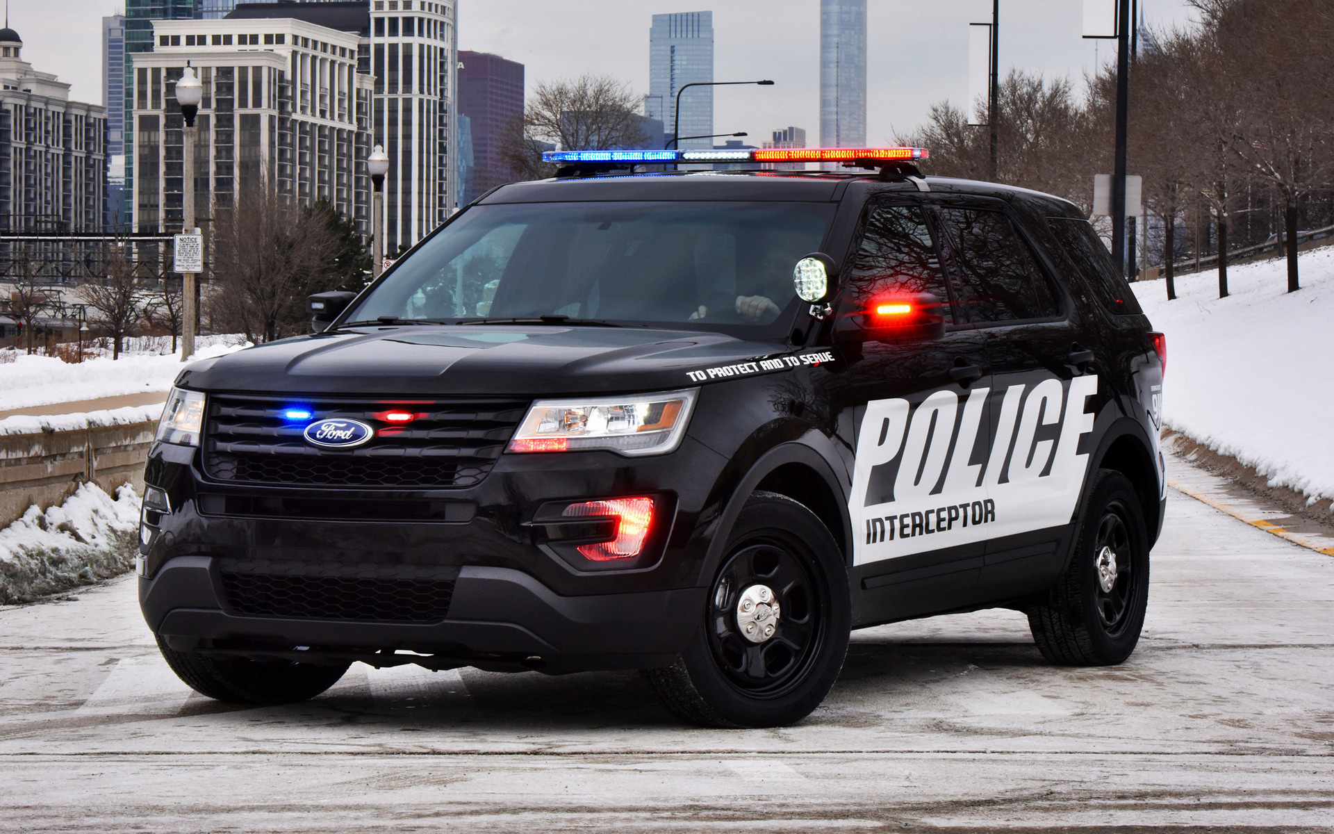 Ford Police Interceptor Utility (2016) Wallpapers and HD ...
