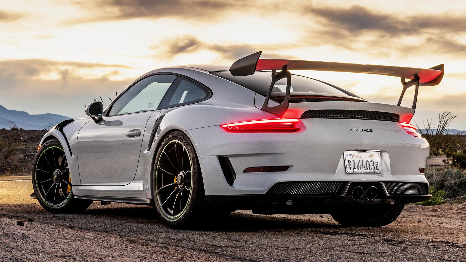 2019 Porsche 911 Gt3 Rs Us Fonds D 233 Cran Et Images Hd
