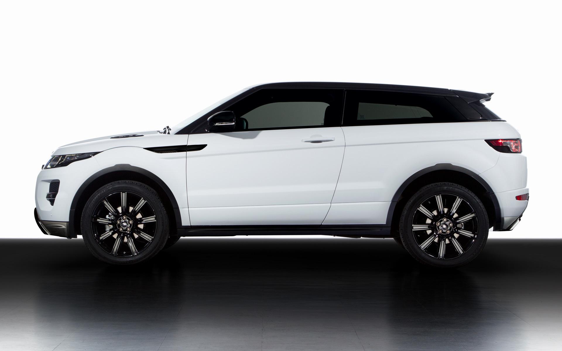 2013 Range Rover Evoque Coupe Dynamic Black Design Pack
