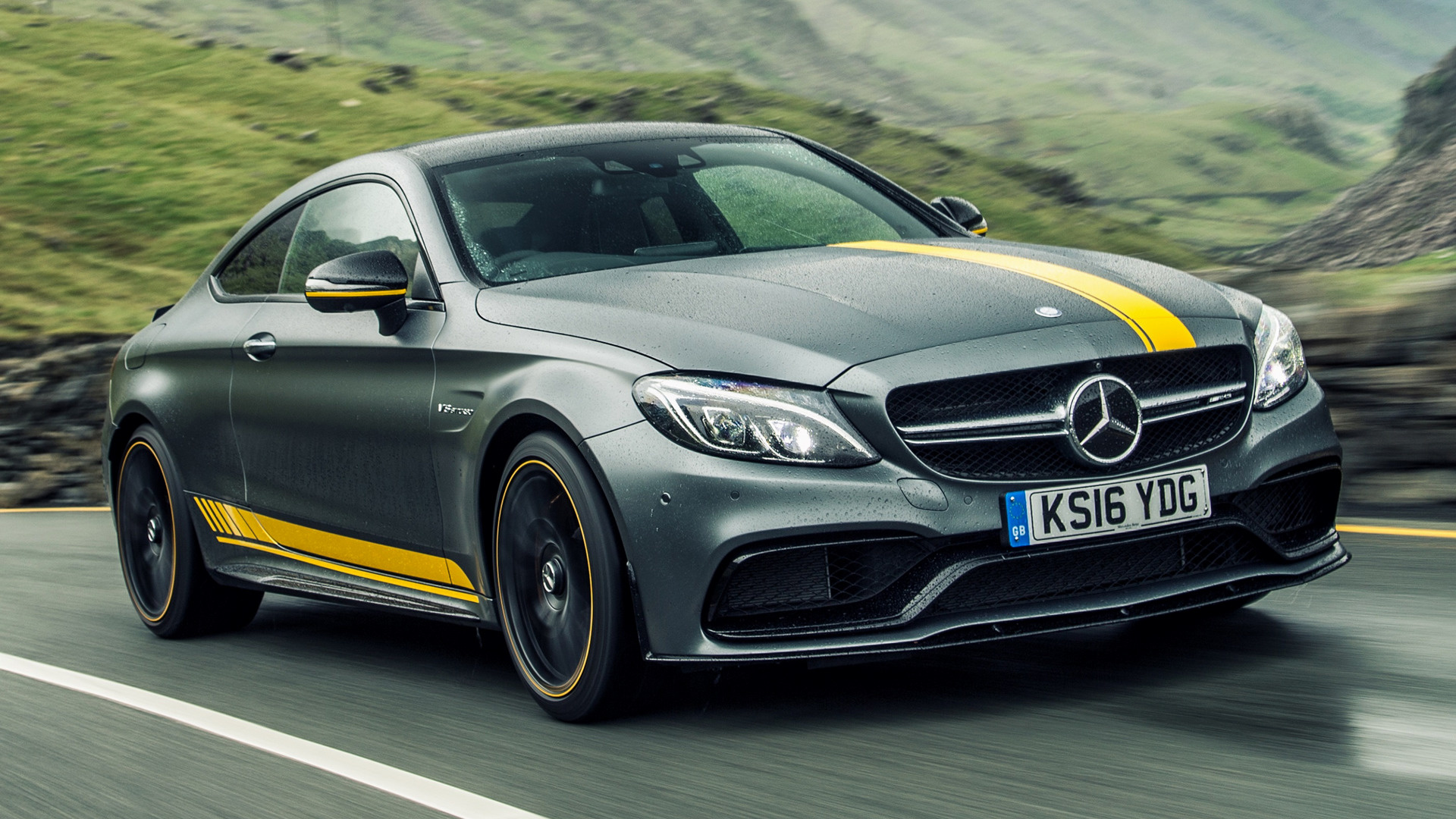 Mercedes amg c 63 s coupe edition 1 2016 wallpapers and hd images - Mercedes Amg C 63 S Coupe Edition 1 2016 Uk Thumbnail 48621 48621 Hd 16 9