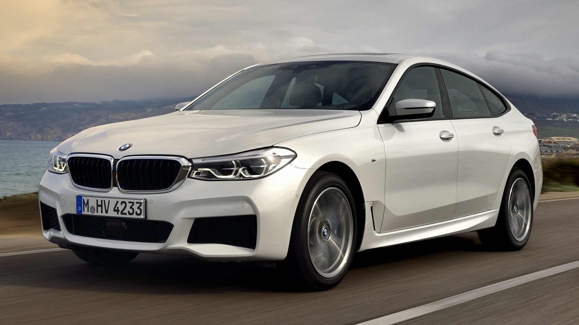 2017 bmw 6 series gran turismo m sport wallpapers and hd images car pixel