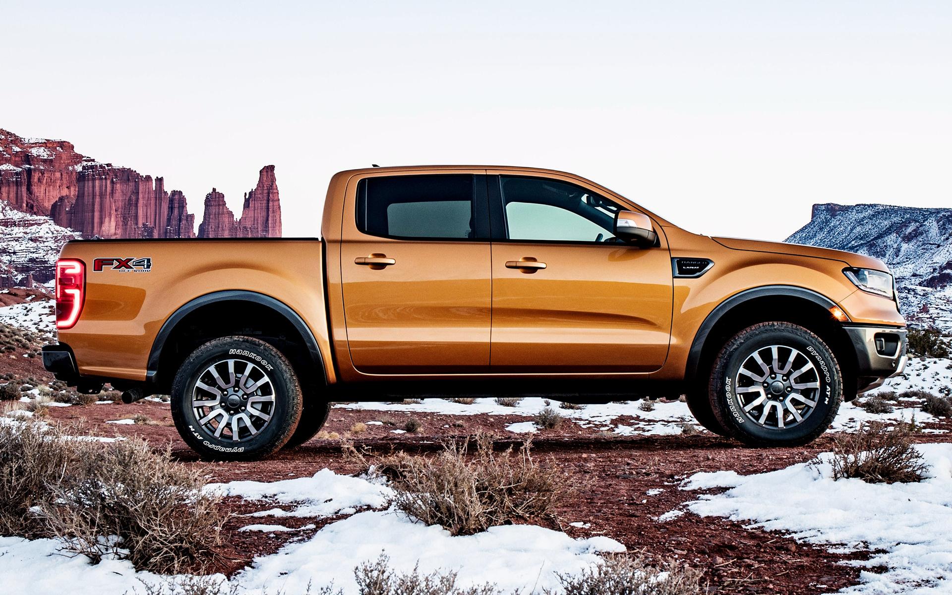 2019 Ford Ranger Lariat FX4 SuperCrew (US) - Wallpapers ...
