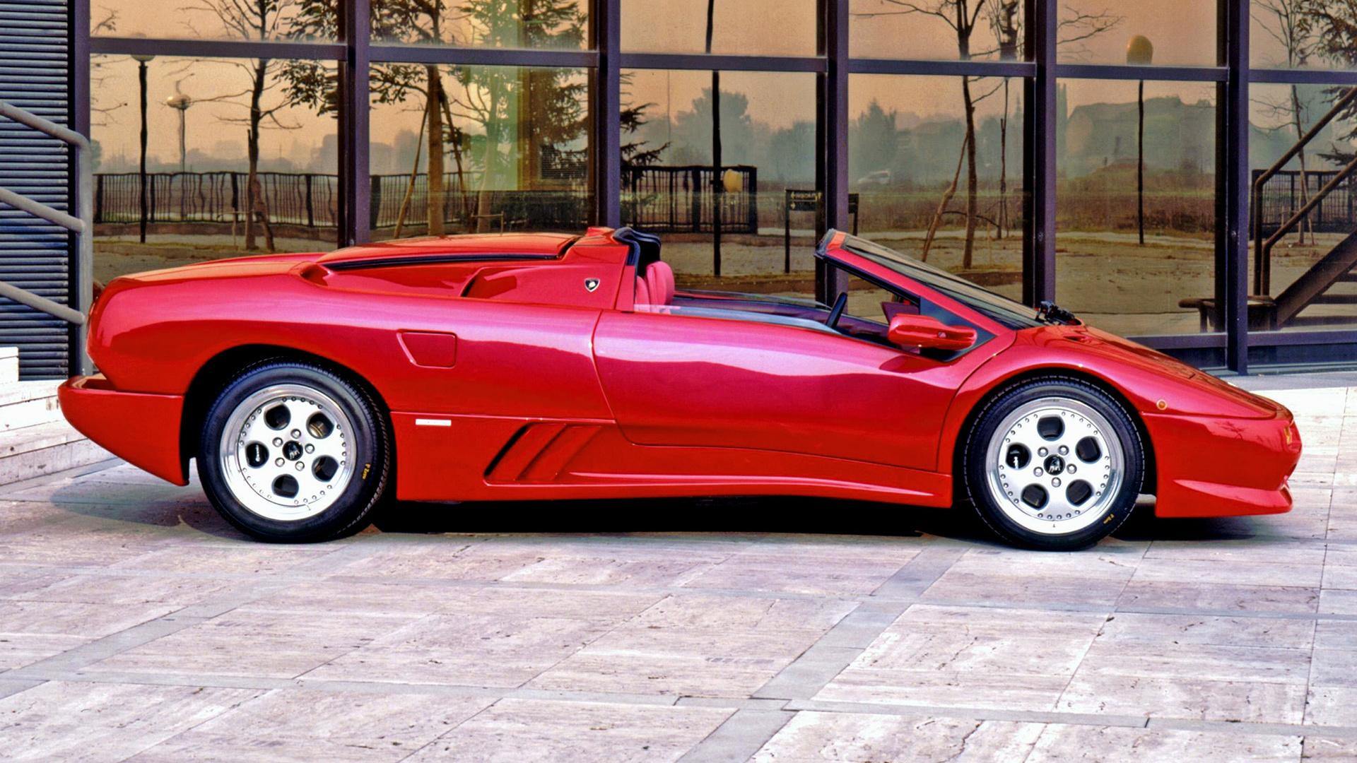 1995 Lamborghini Diablo Vt Roadster Wallpapers And Hd