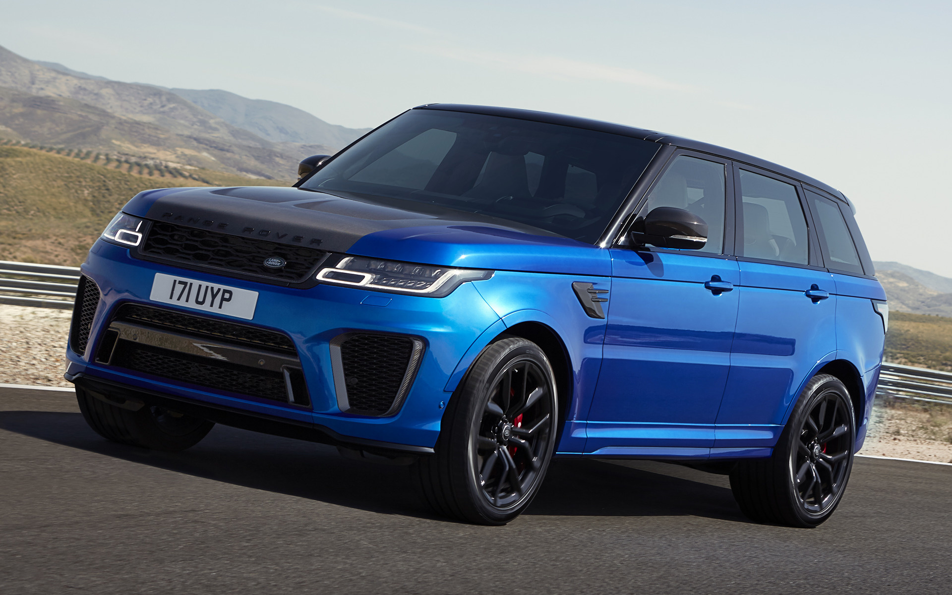 Range Rover Autobiography >> 2017 Range Rover Sport SVR - Wallpapers and HD Images ...