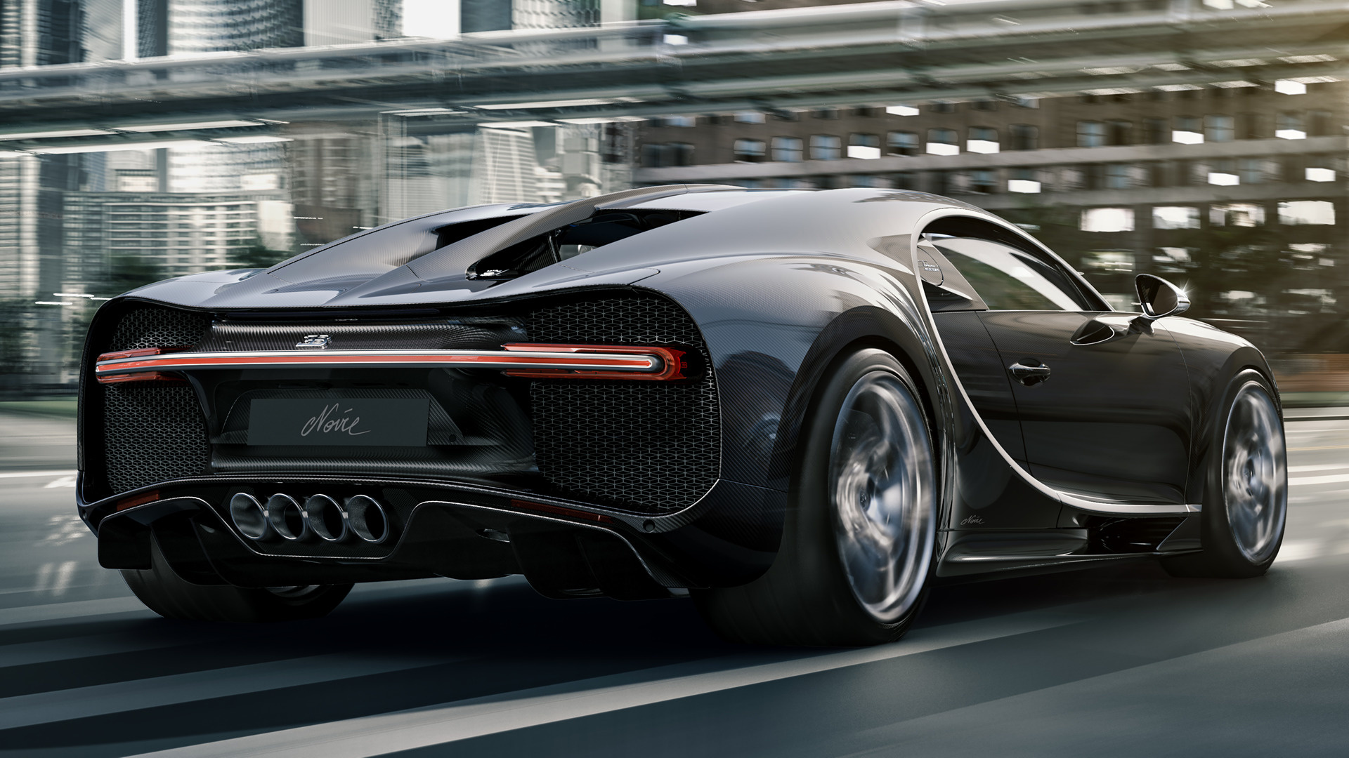 2020 Bugatti Chiron Noire - Wallpapers and HD Images | Car ...