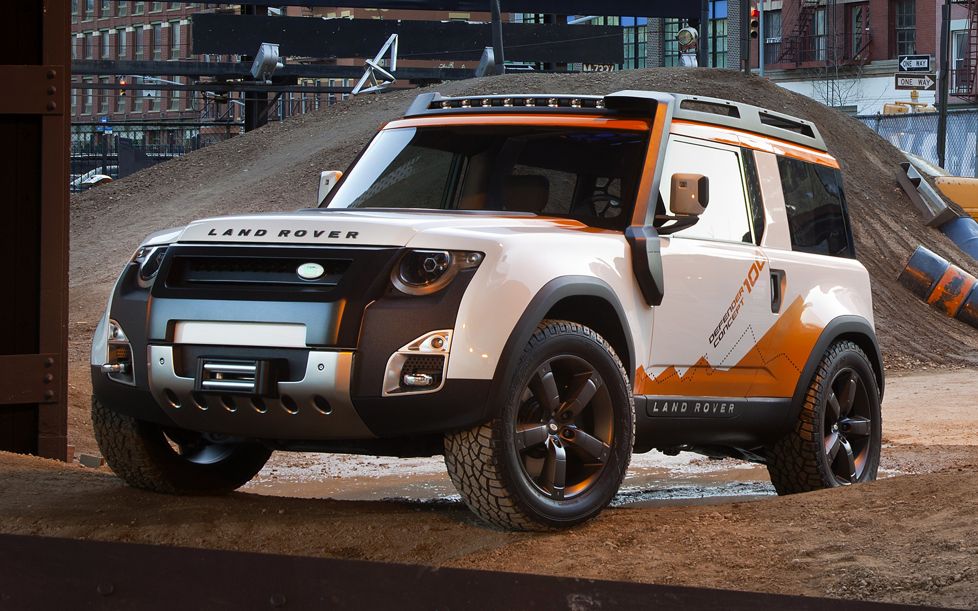Land Rover Dc 100 >> Land Rover DC100 Expedition Concept (2012) Wallpapers and HD Images - Car Pixel