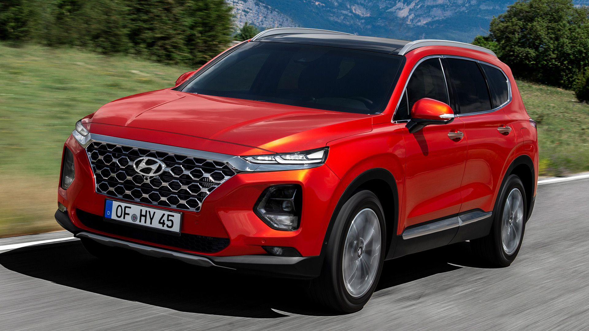 Chevrolet Santa Fe >> 2018 Hyundai Santa Fe - Wallpapers and HD Images | Car Pixel