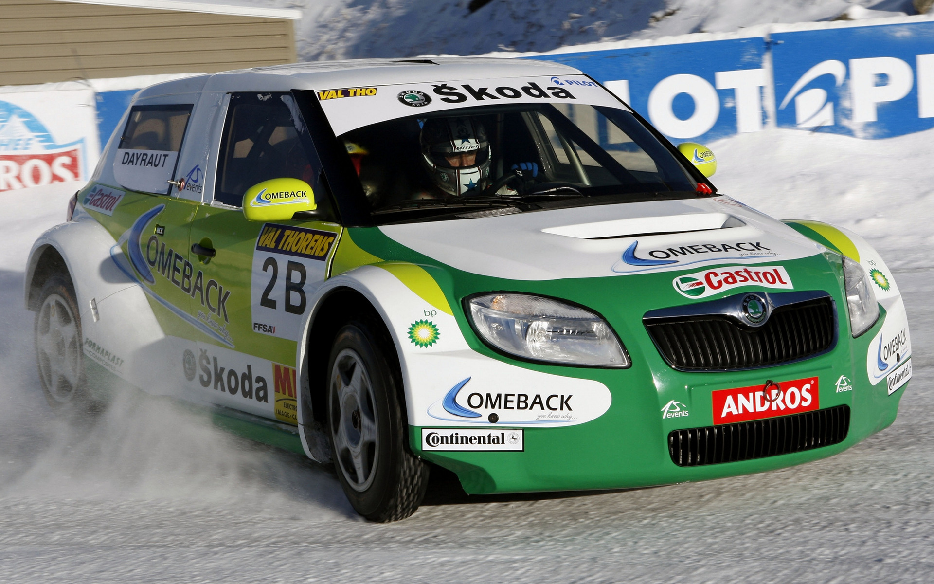 Skoda Fabia Trophee Andros 2010 Wallpapers And Hd Images