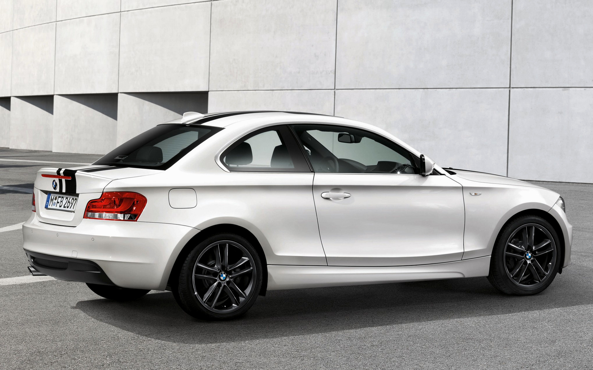 2011 Bmw 1 Series Coupe With M Performance Parts