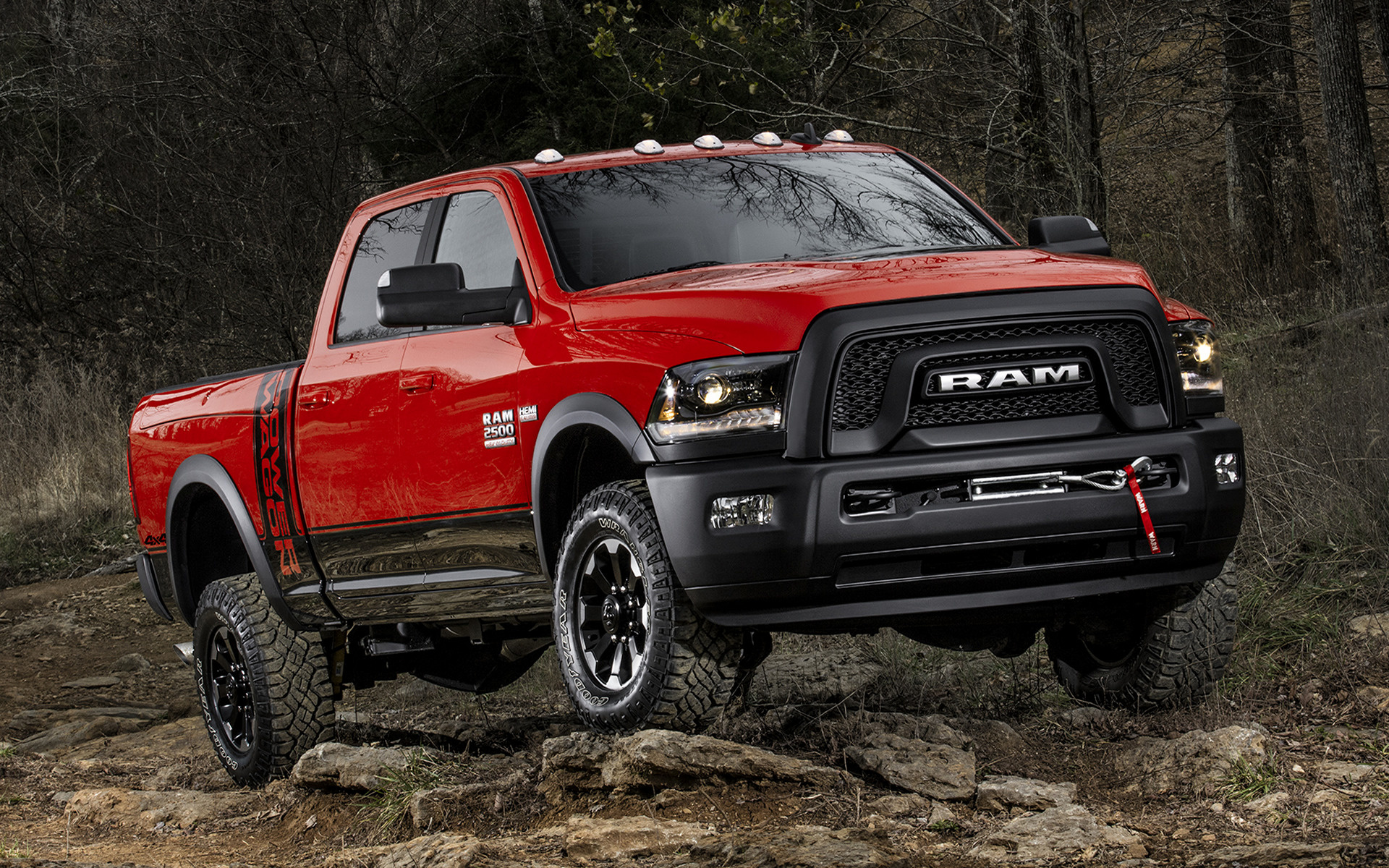 Ram 2500 Power Wagon Crew Cab 2017 Wallpapers And Hd