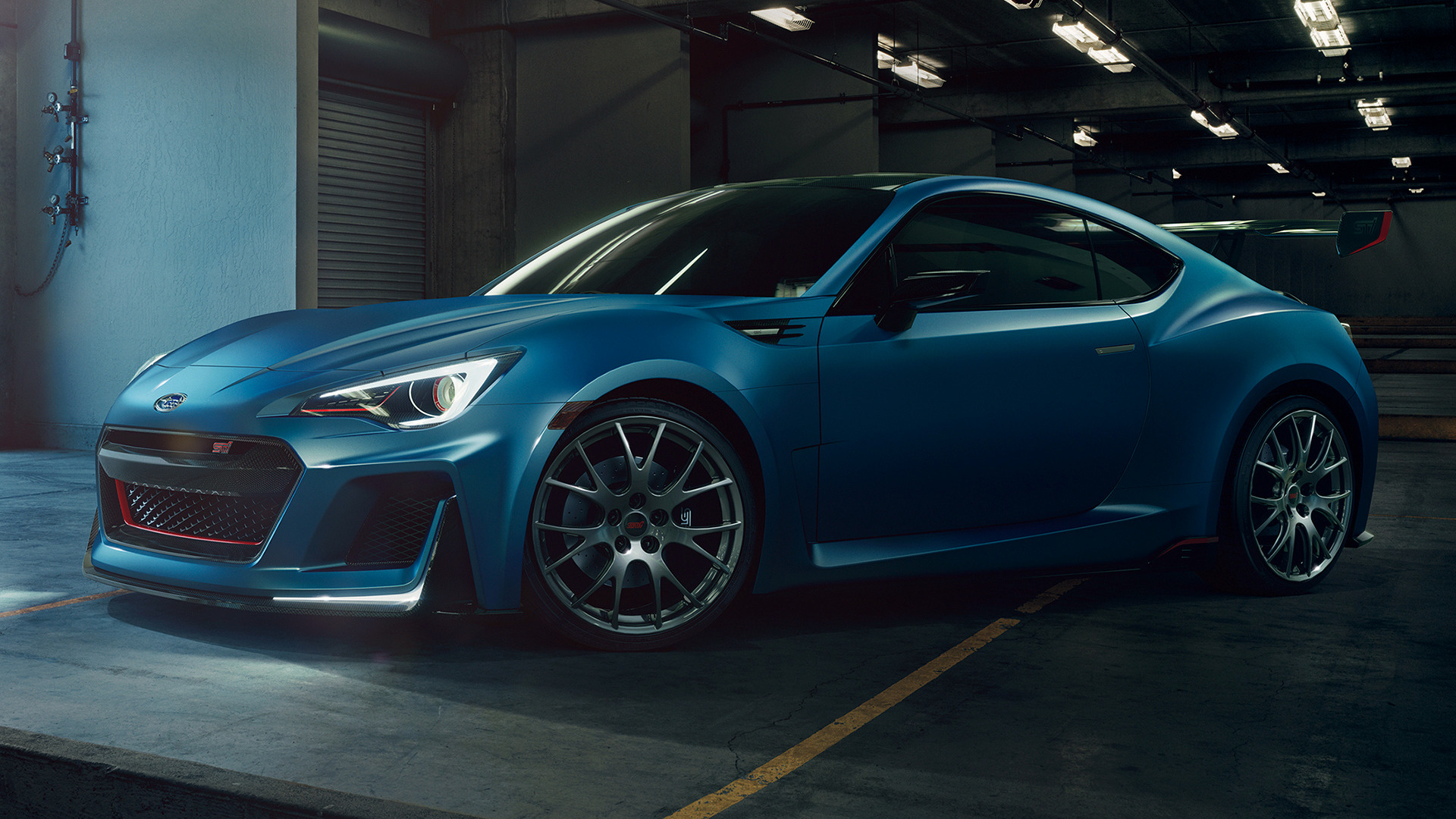 Subaru Brz Sti Performance Concept 2015 Wallpapers And