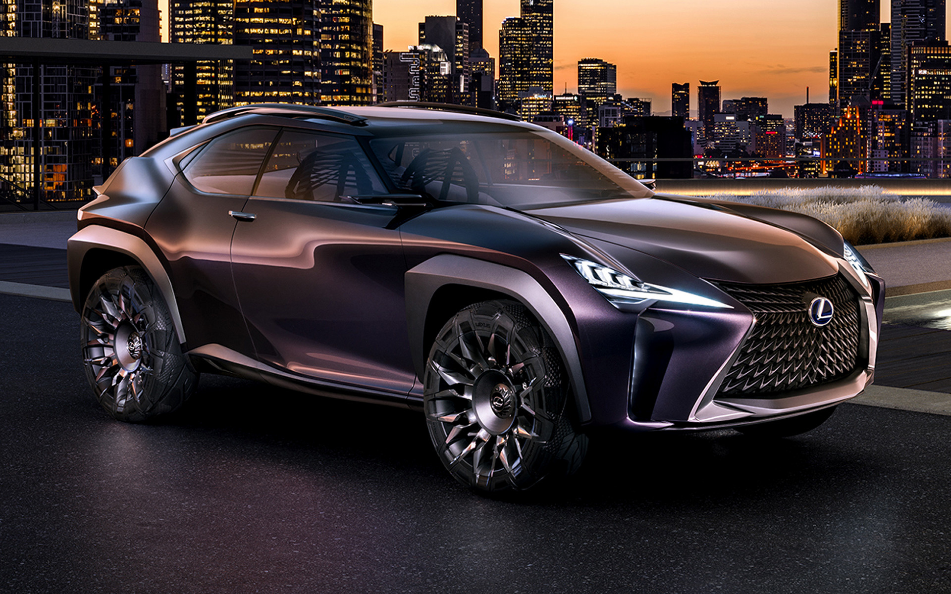 2016 Lexus UX Concept - Wallpapers and HD Images | Car Pixel