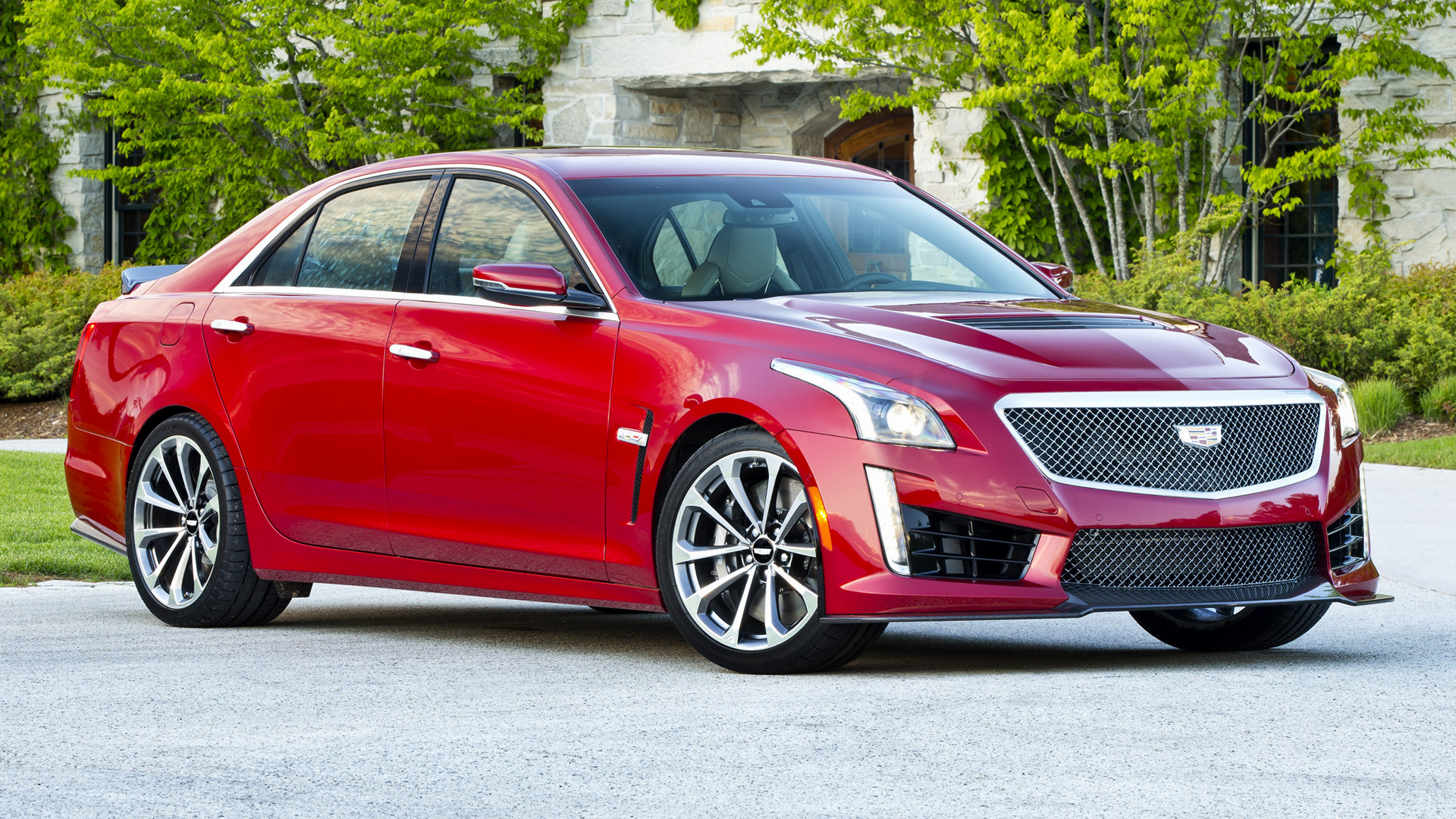 Cadillac Cts V 2016 Wallpapers And Hd Images Car Pixel