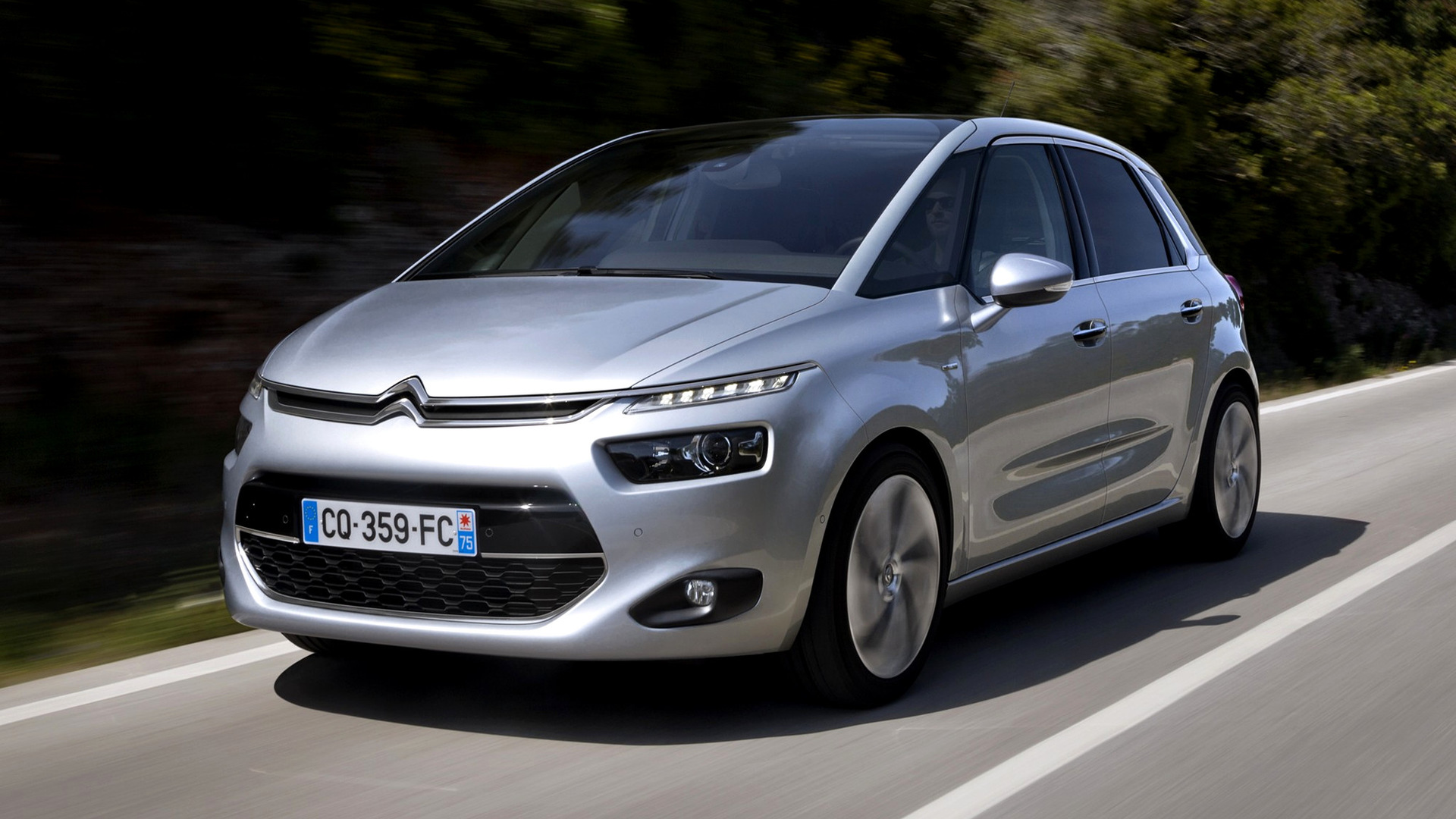 citroen c4 picasso 2013 wallpapers and hd images car pixel. Black Bedroom Furniture Sets. Home Design Ideas