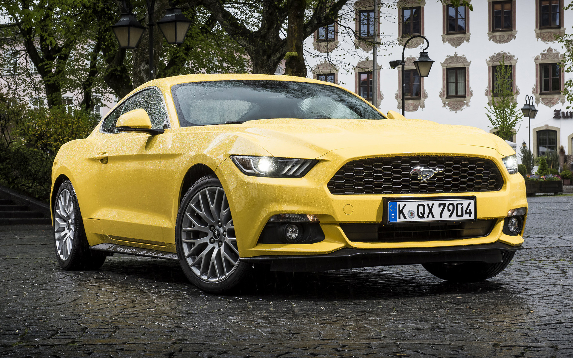 2015 Ford Mustang Ecoboost Eu Wallpapers And Hd Images